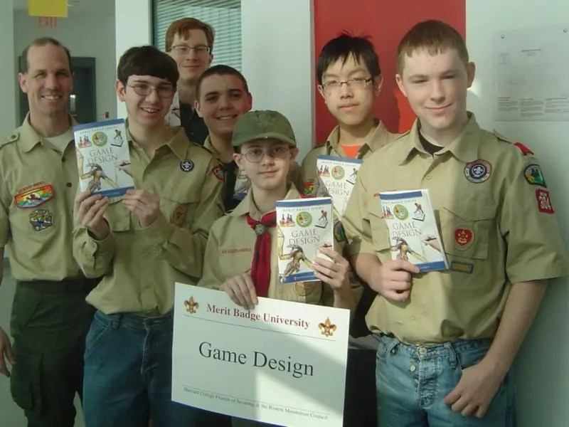 Belmont Scout Earns First-Ever Game Design Badge Belmont, MA Patch