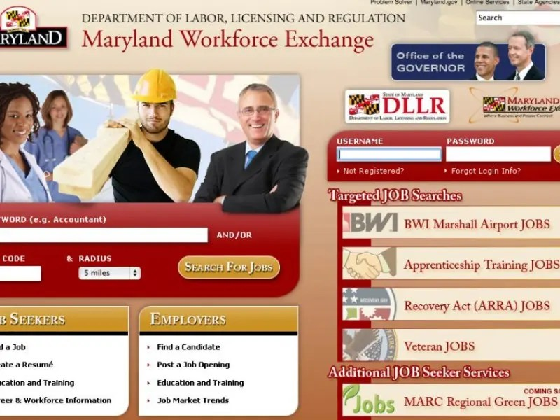 Maryland Labor Agency Upgrades Online Tools For Unemployed Workers