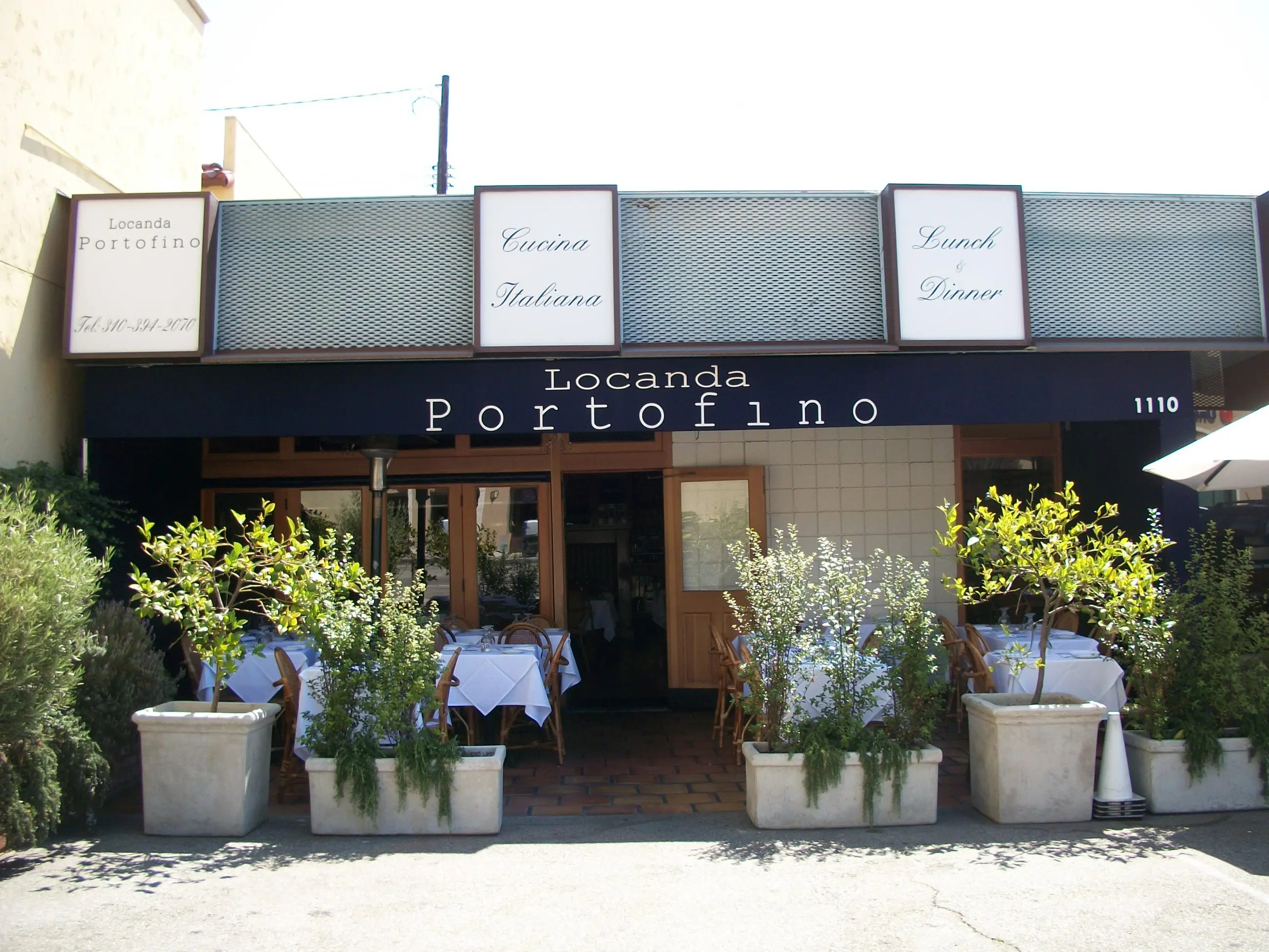 Cucina Trattoria Marina Del Rey Locanda Portofino One Of The Finest Santa Monica Ca Patch