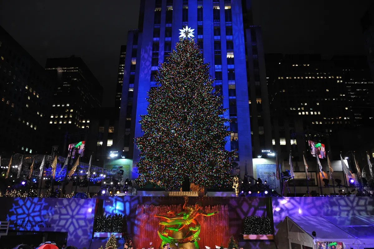 Rockefeller Tree Lighting Traffic Rockefeller Center Tree Lighting 2018: How To Watch, Performers | Patch