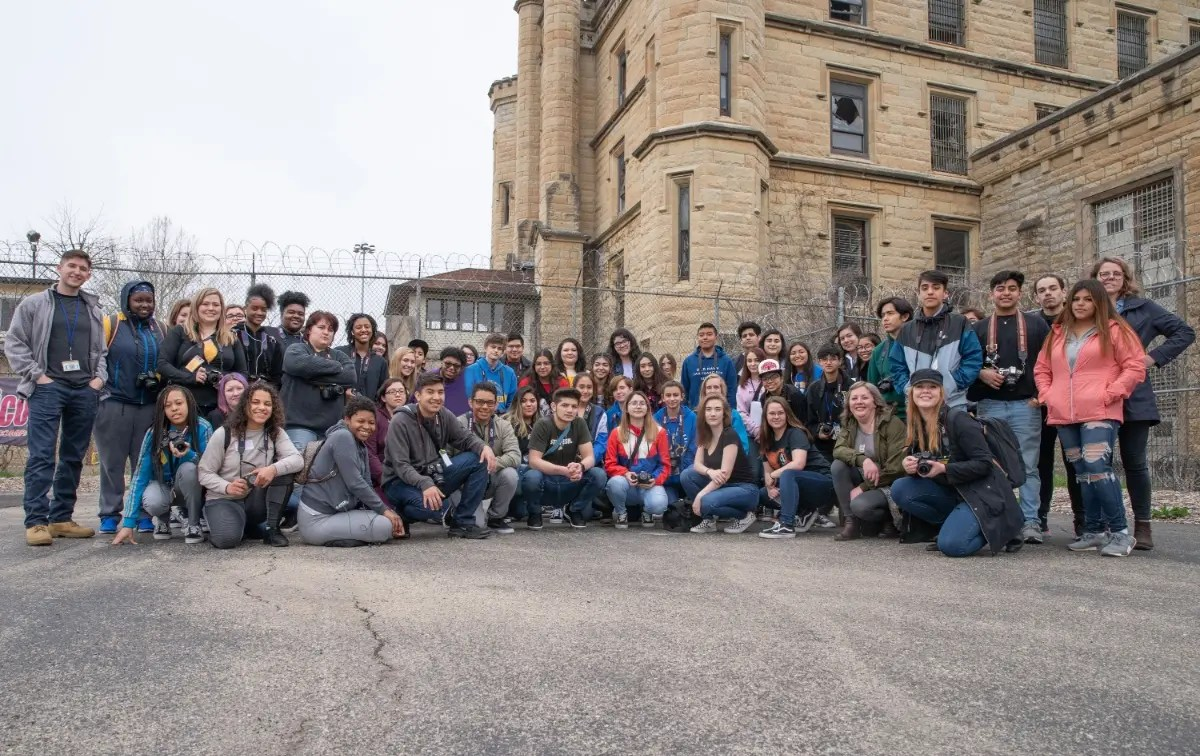 Monica Diago Photography Students From Joliet Central Visit Old Joliet