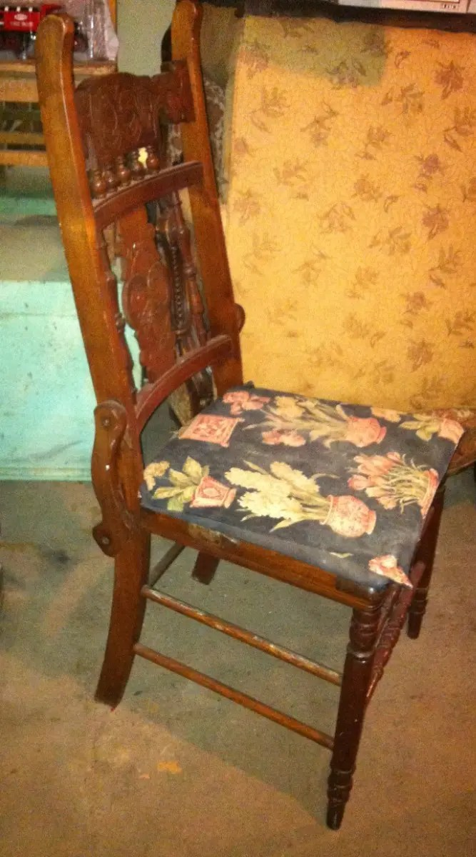 Vintage Wood Furniture Chair Project Hicksville Ny Patch