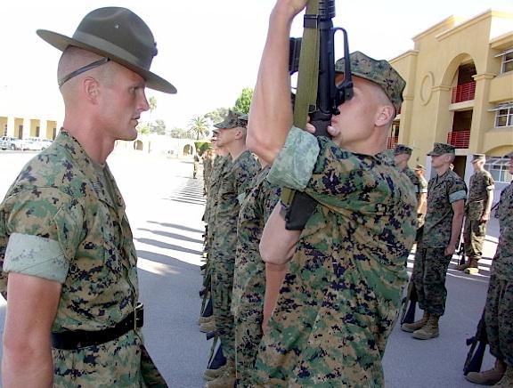 USMC drill instructor The Joe Report
