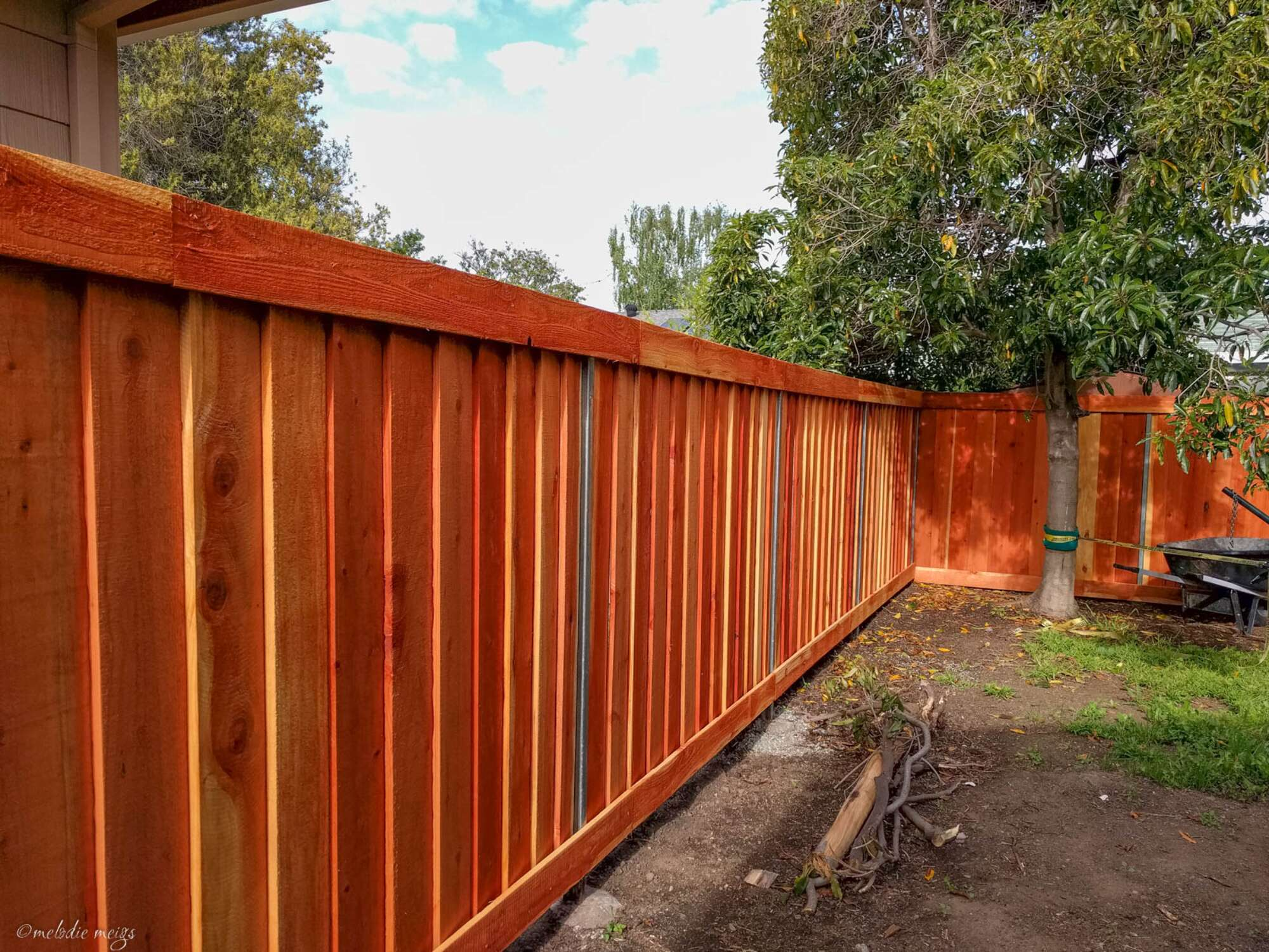 How To Build A Modern Good Neighbor Fence Patchwork Pebbles