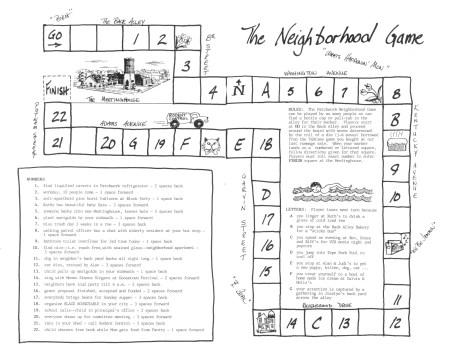 Neighborhood Holiday Games