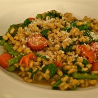 Barley and Vegetable Risotto