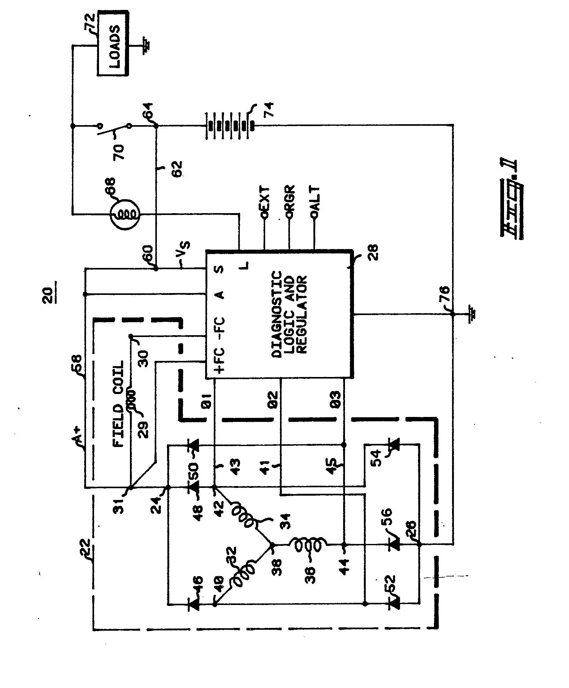 double 30 amp service wiring diagram