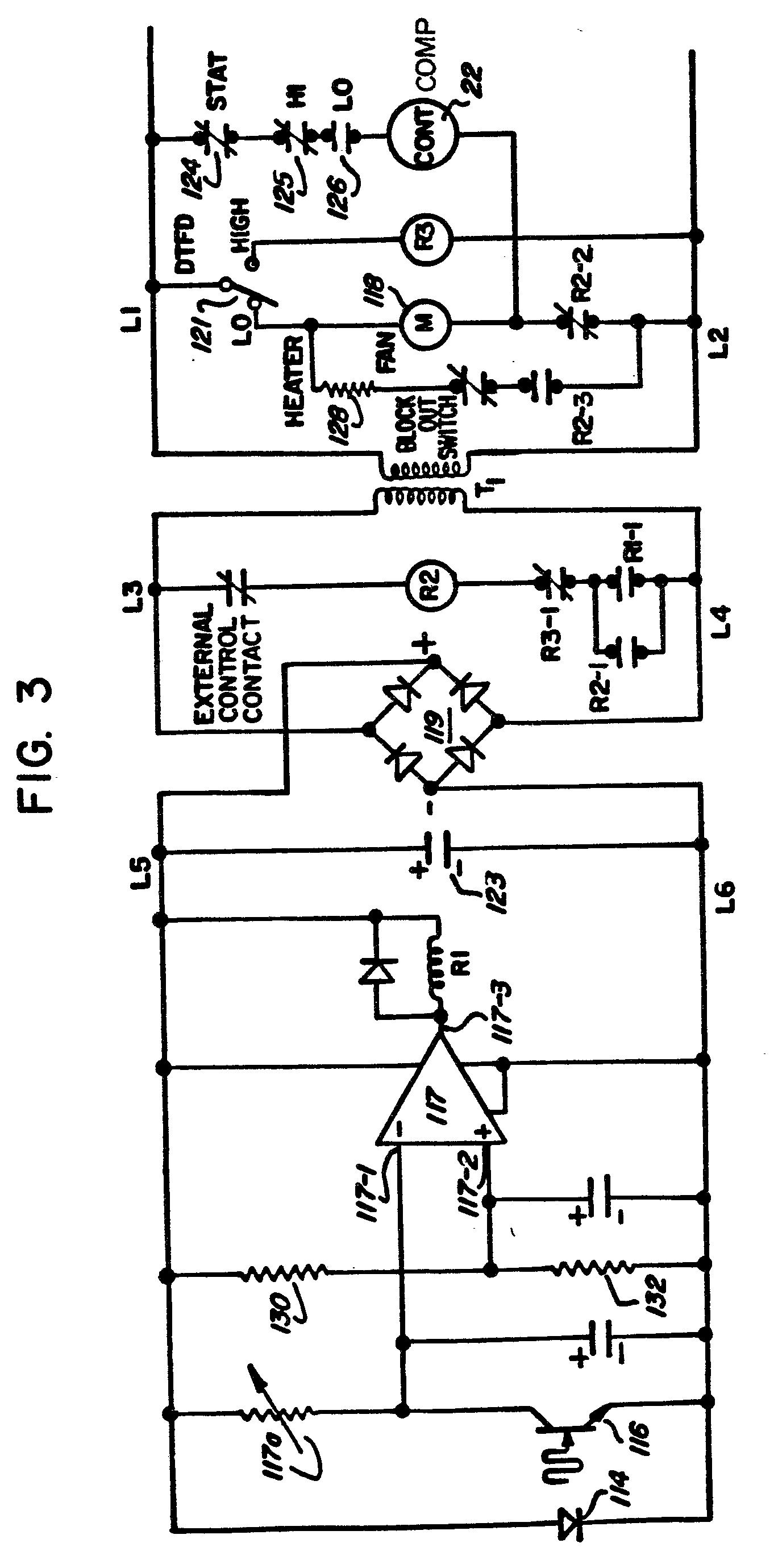 3 wire fan delay klixon wiring diagram