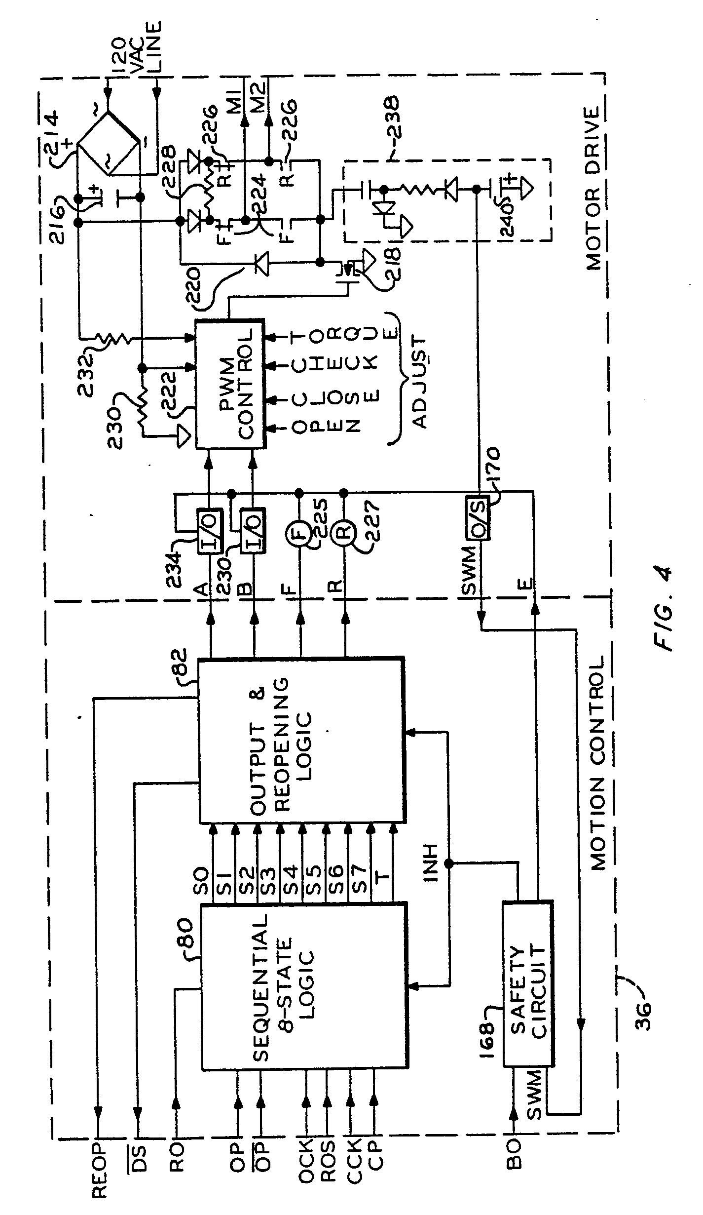 schema cablage motor control system
