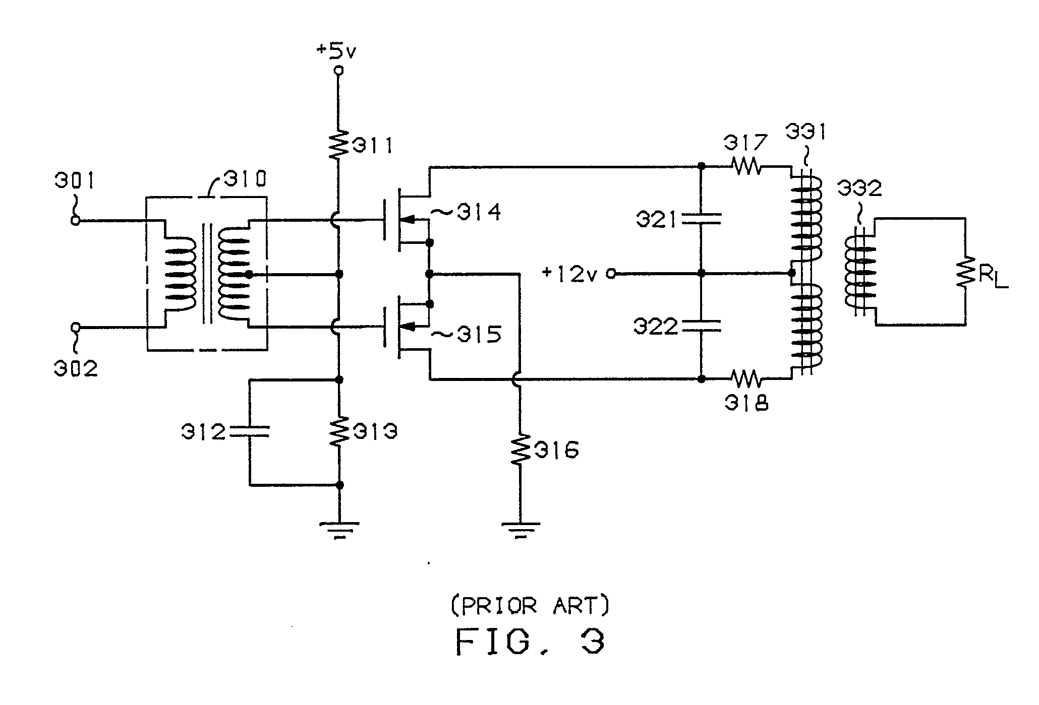 patent ep0333388a2 power transfer circuit including a sympathetic
