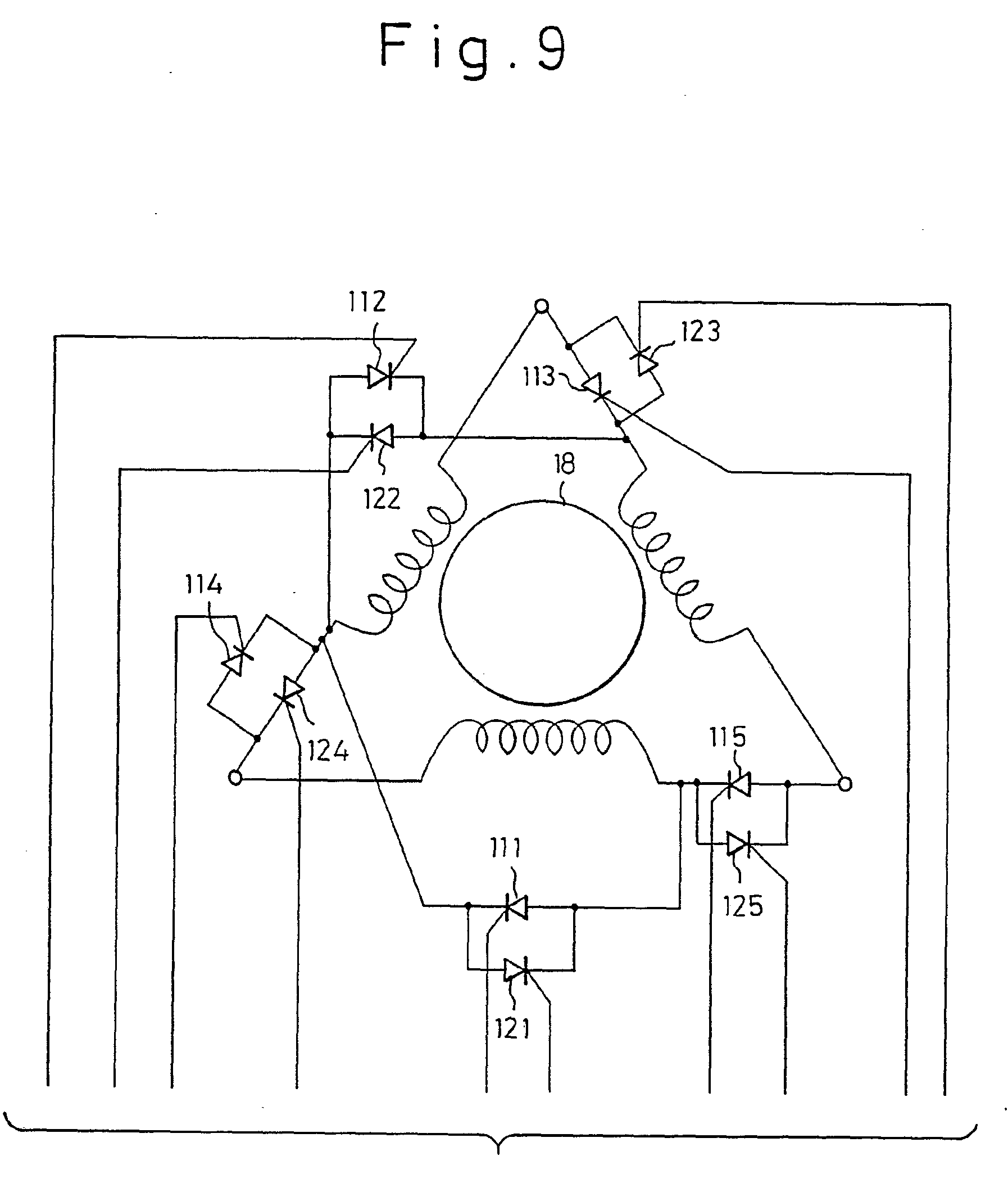 induction motor diagram