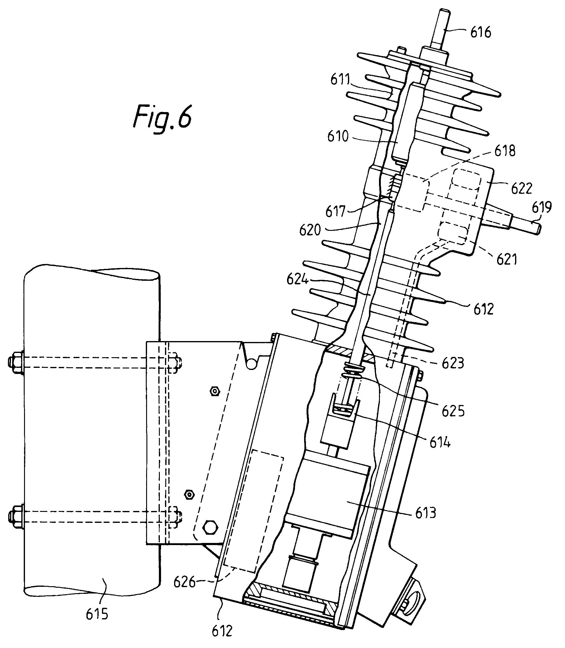 self powered current sensing circuit