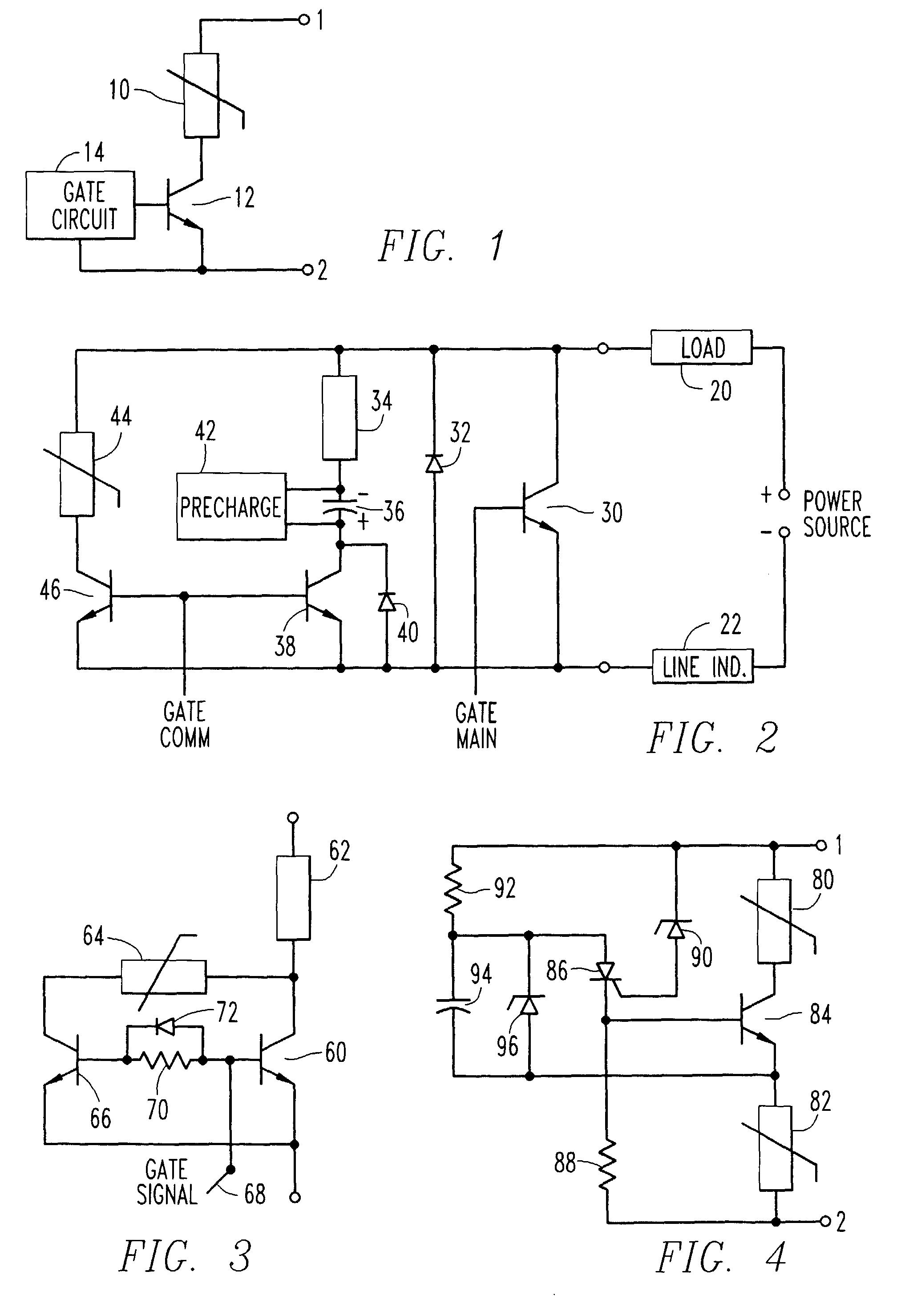 circuit breaker and voltage clamp circuit patent 0701313