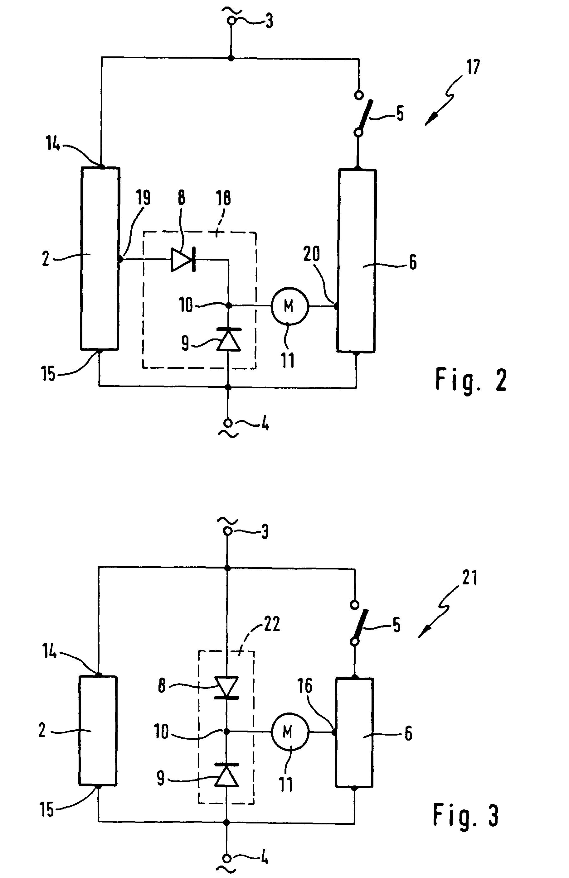 tr250 bedradings schema