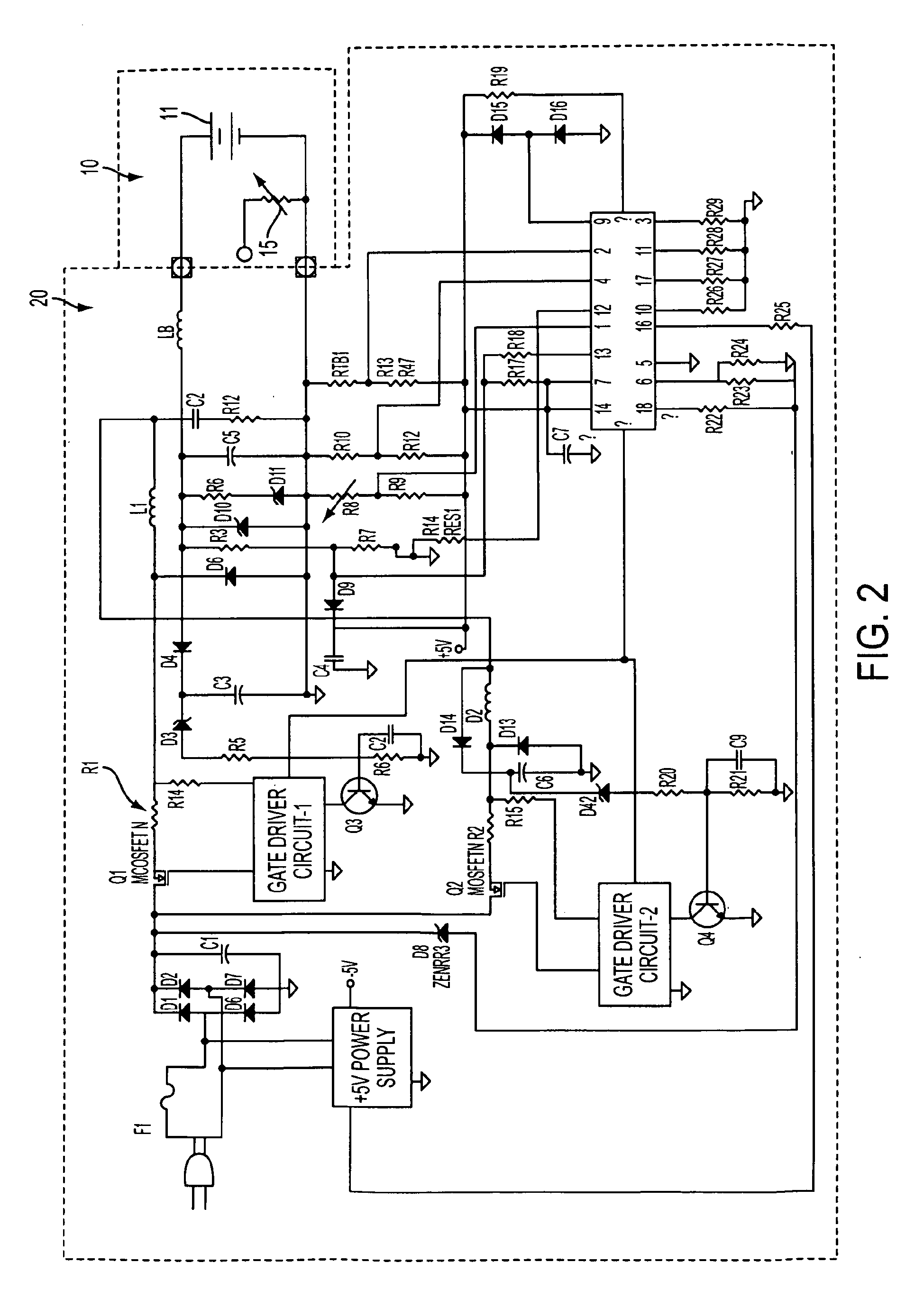 battery schematic a1151