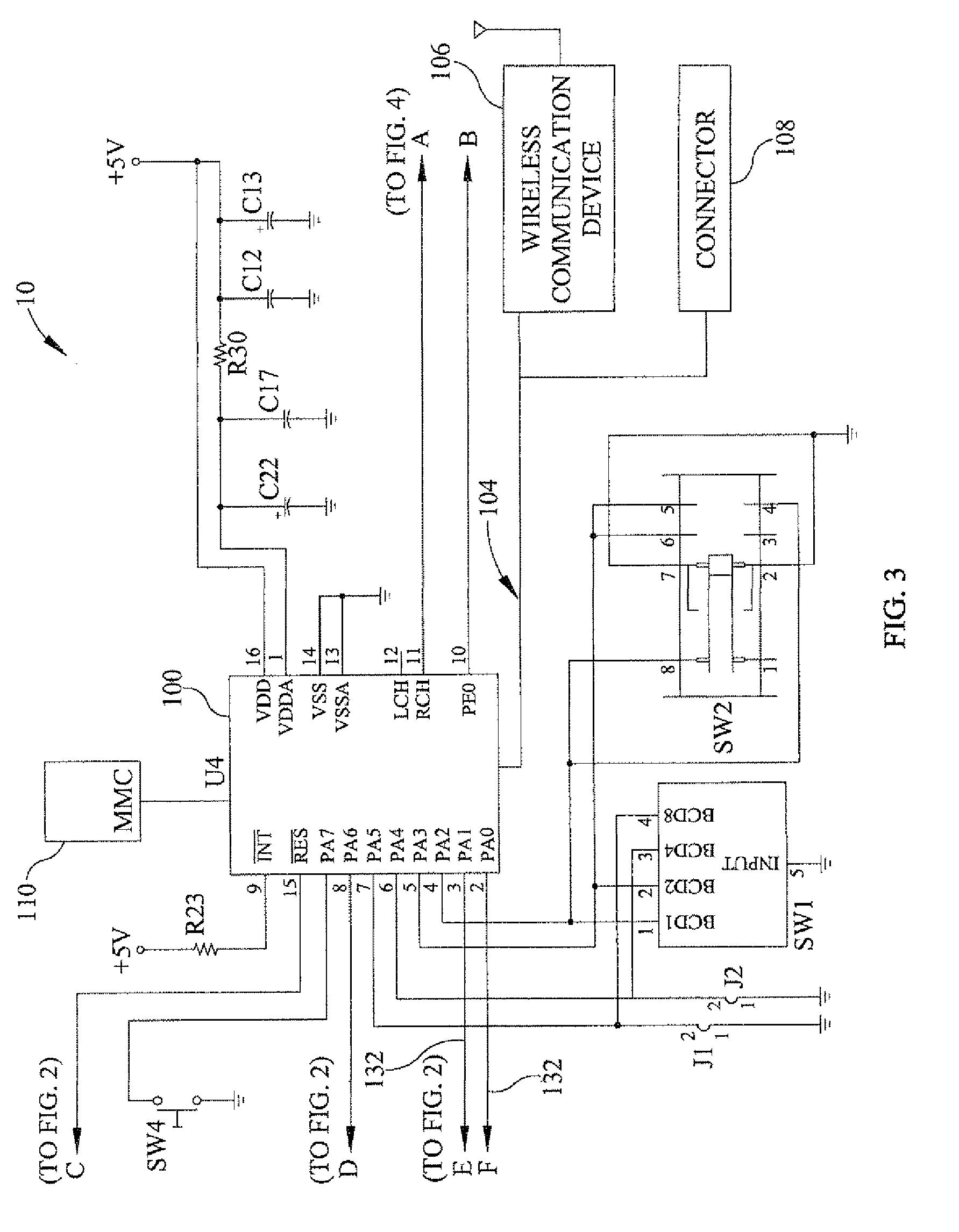 polyphonic doorbell