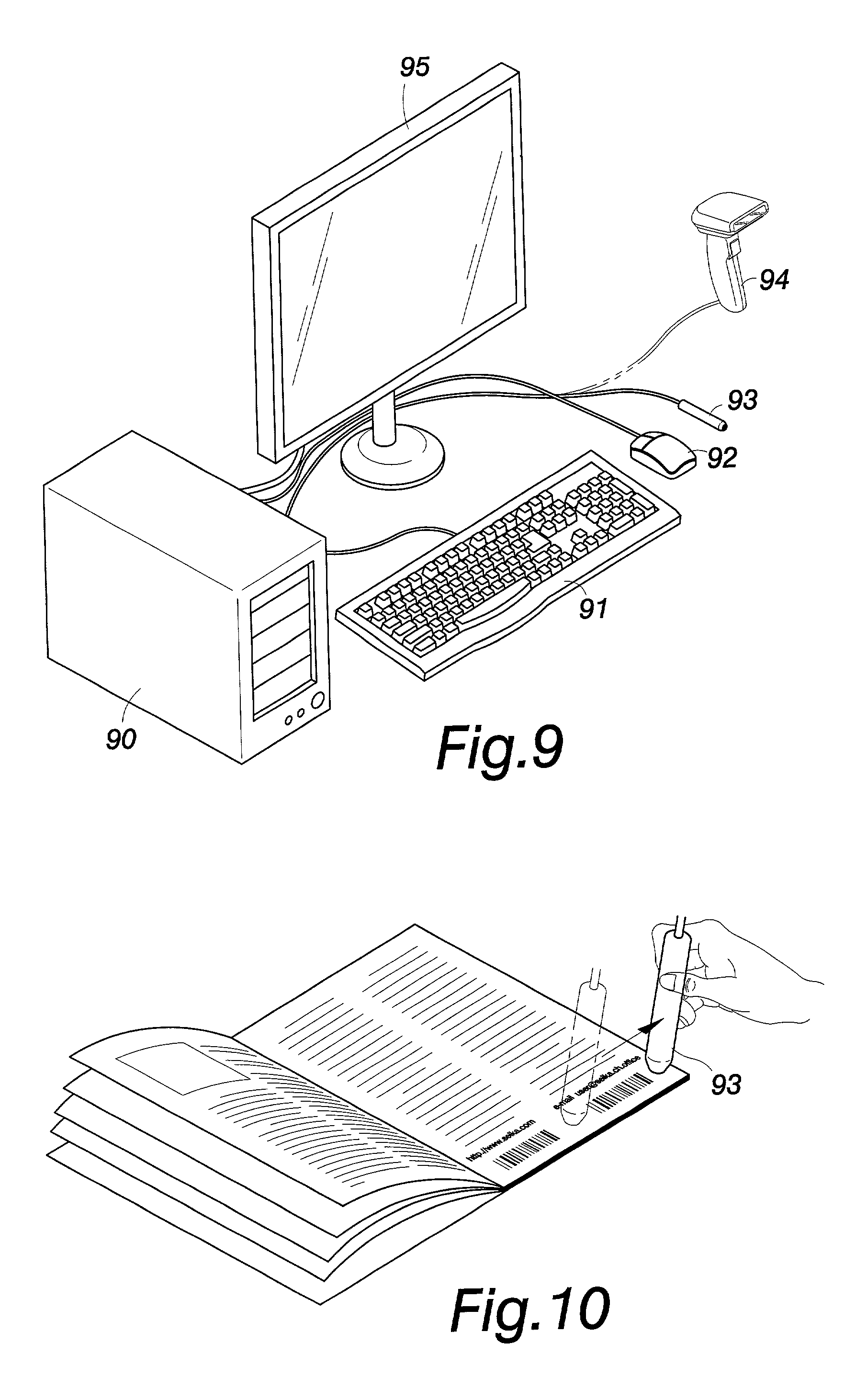 circuit board for wireless laser mouse