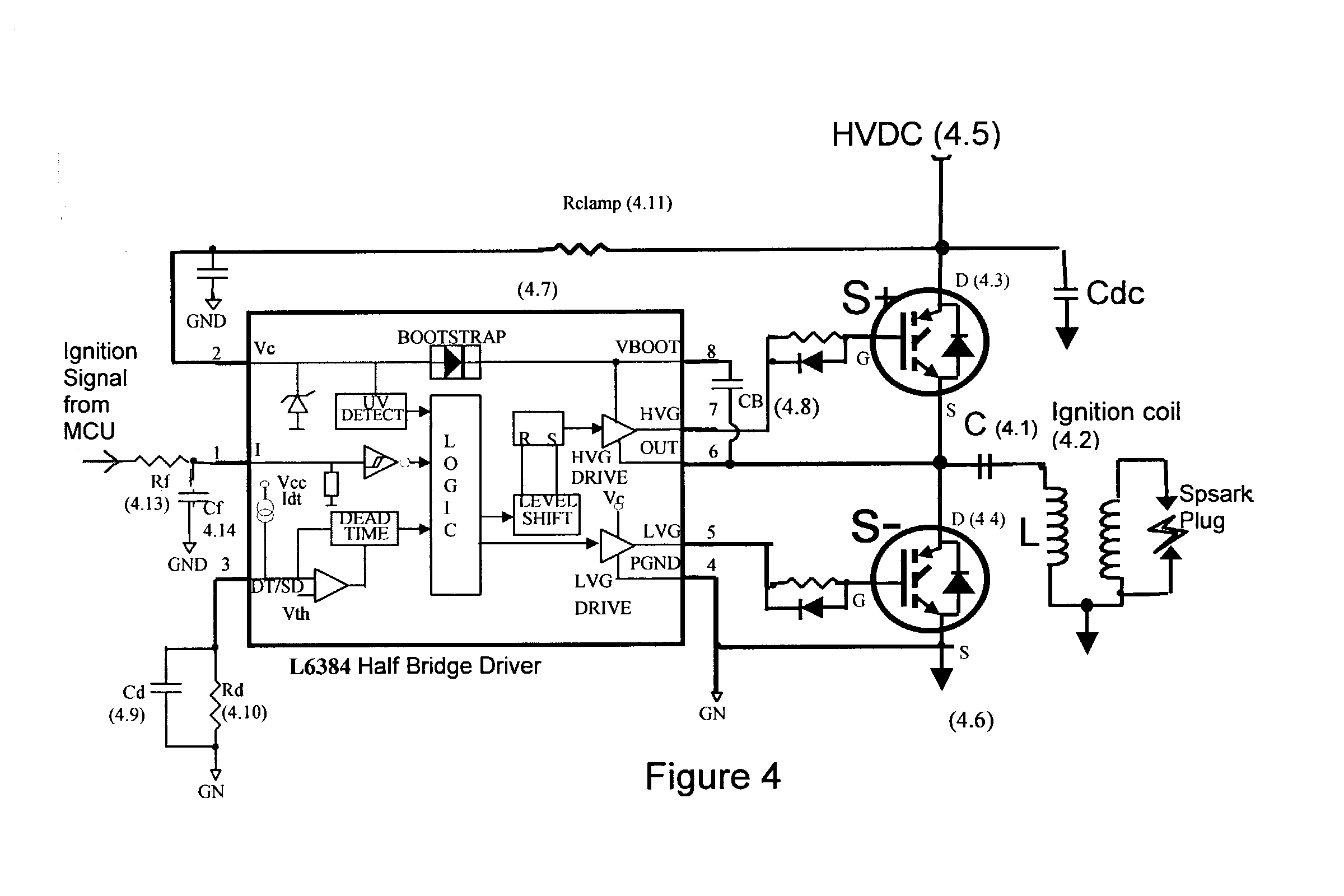 capacitor discharge ignition circuit diagram
