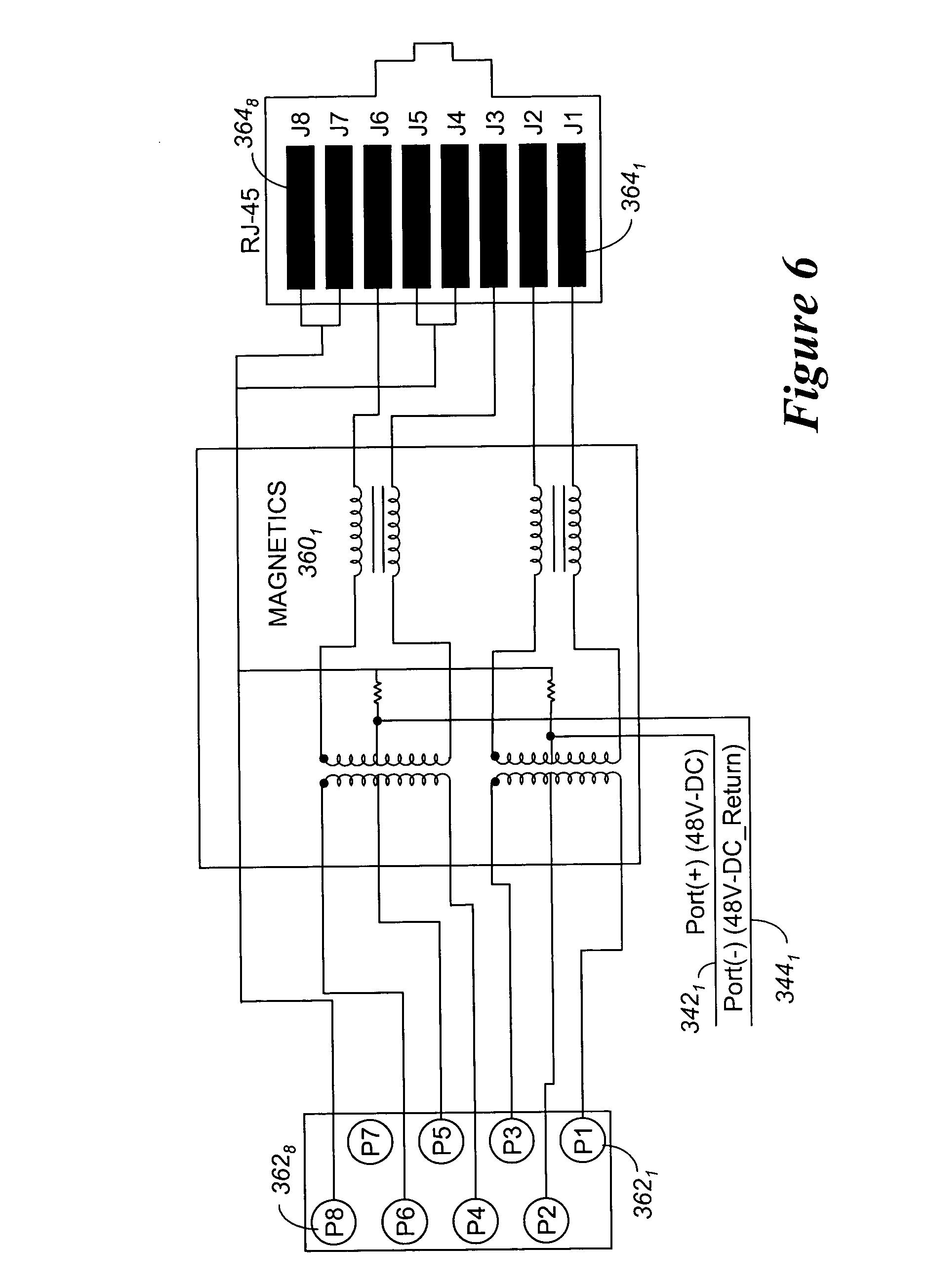 poe rj45 jack wiring diagram