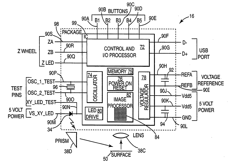 logitech wireless mouse schematic