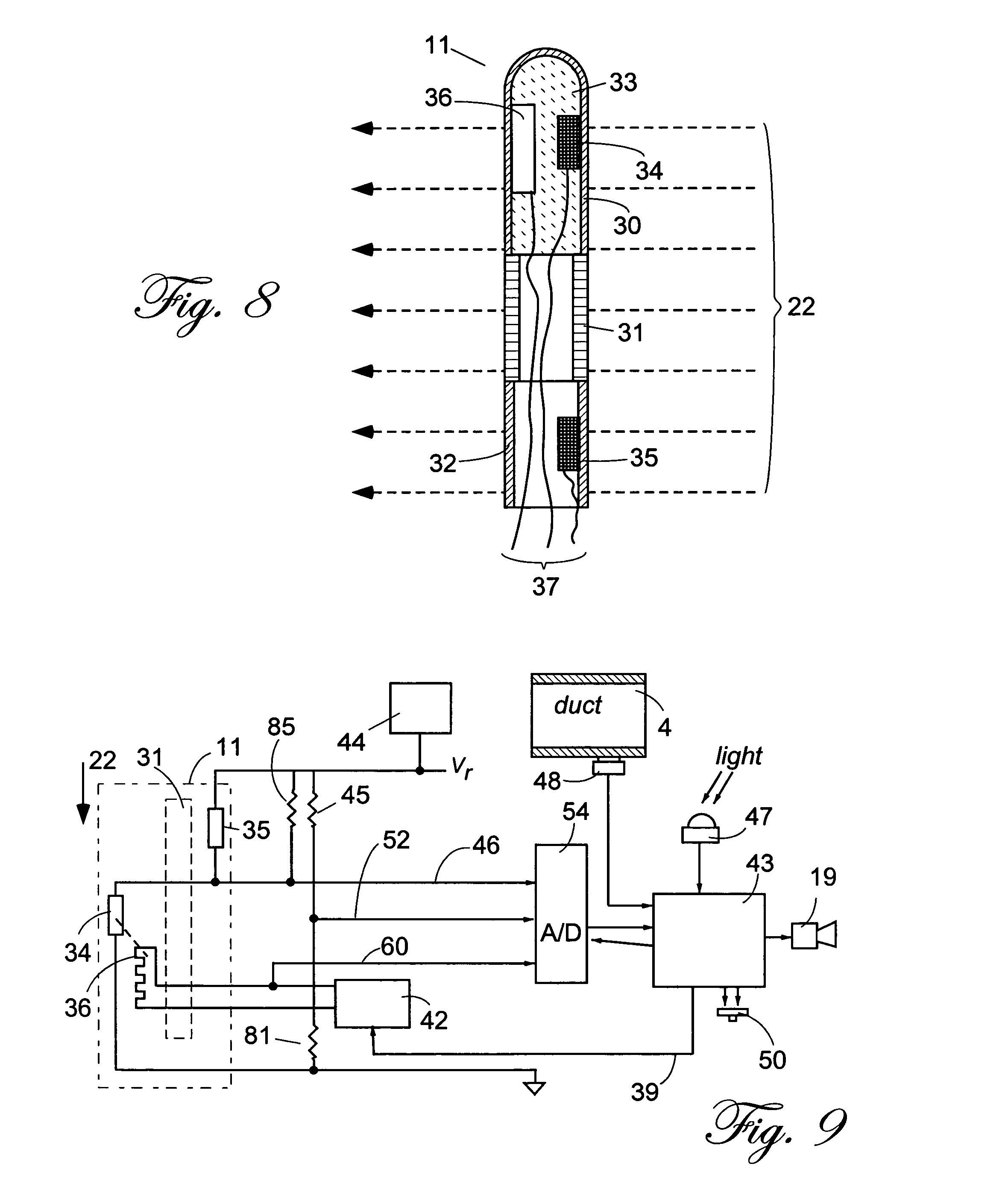 air flow detector circuit