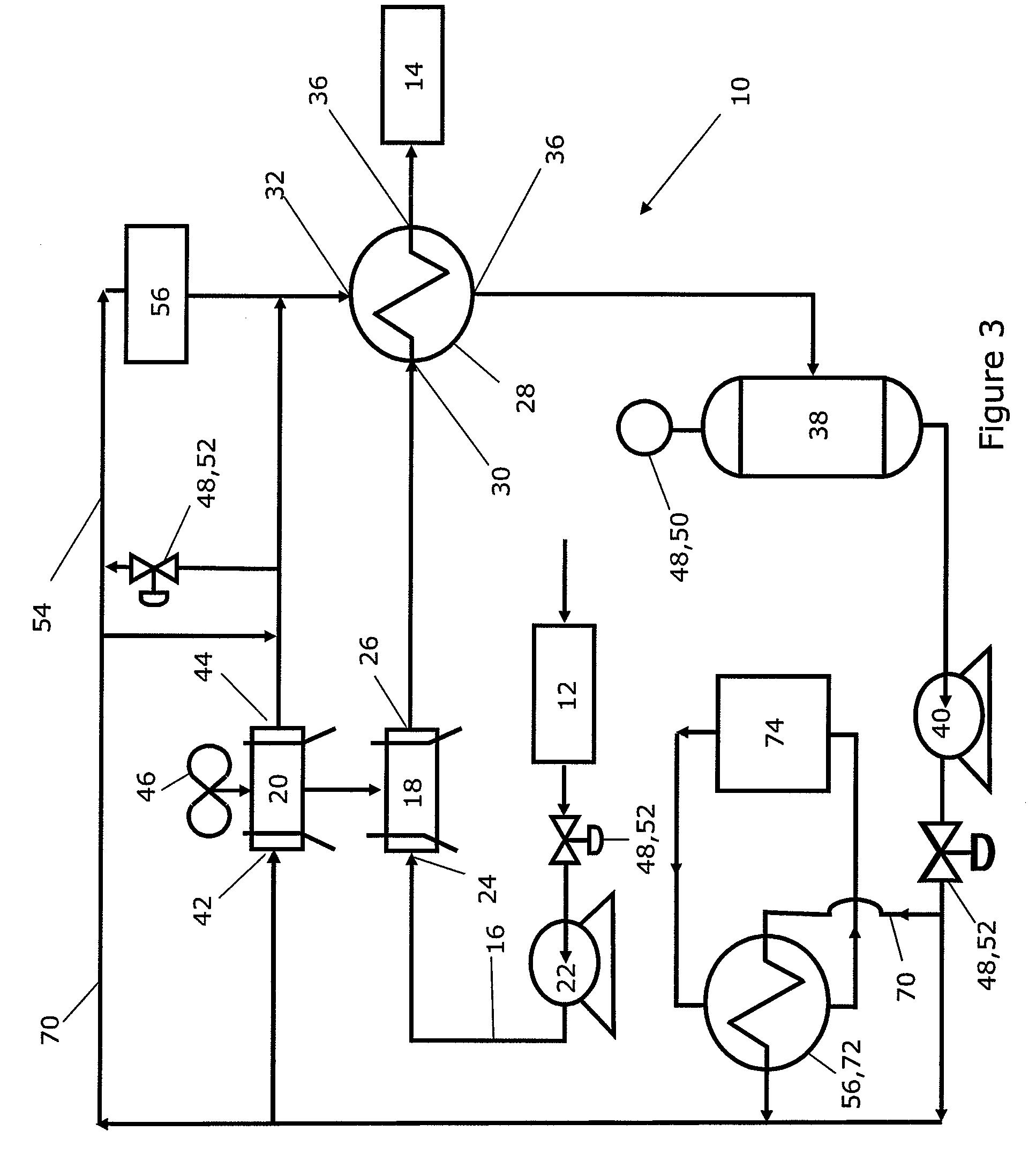 lng regasification process flow diagram