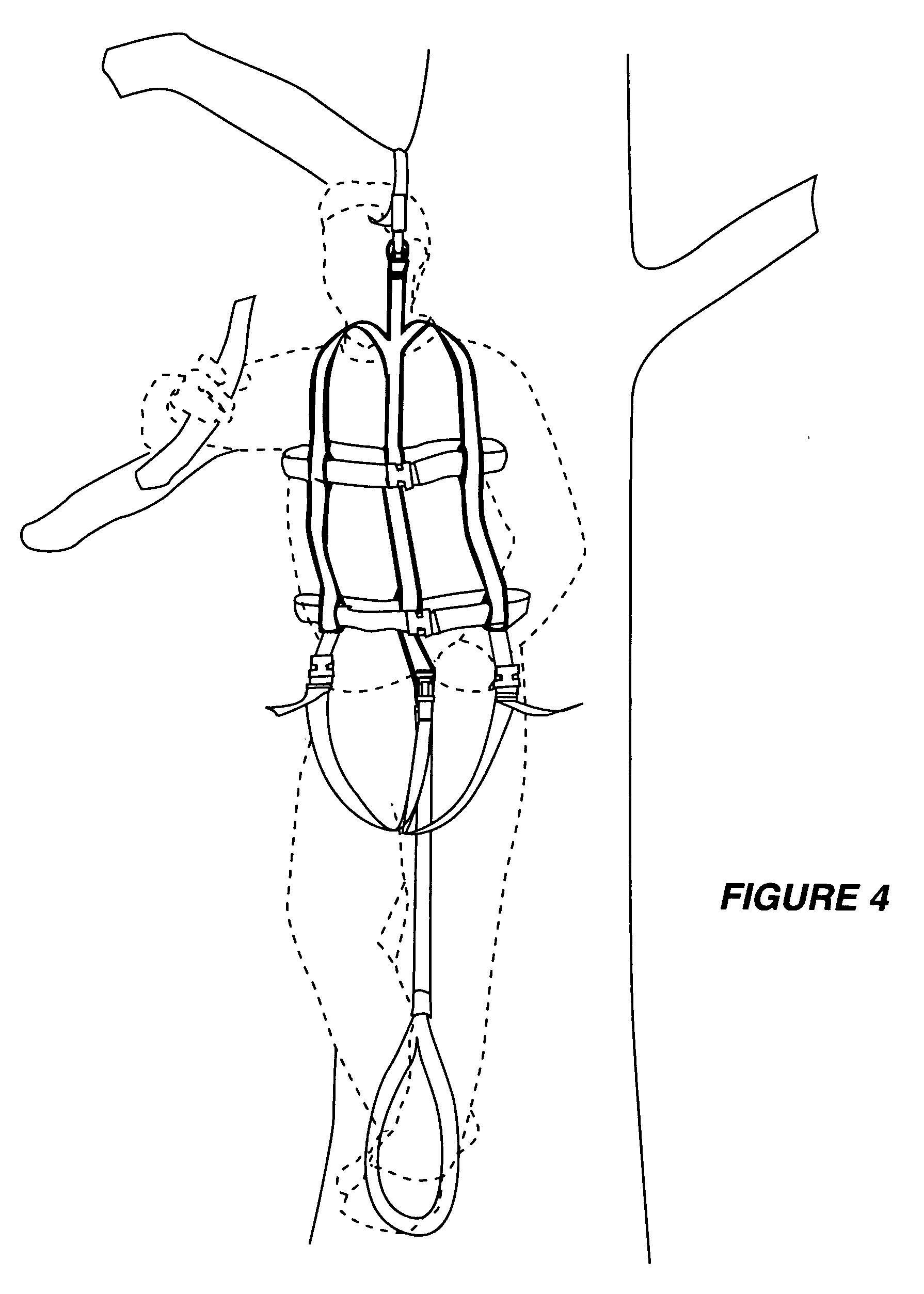 harness suspension relief