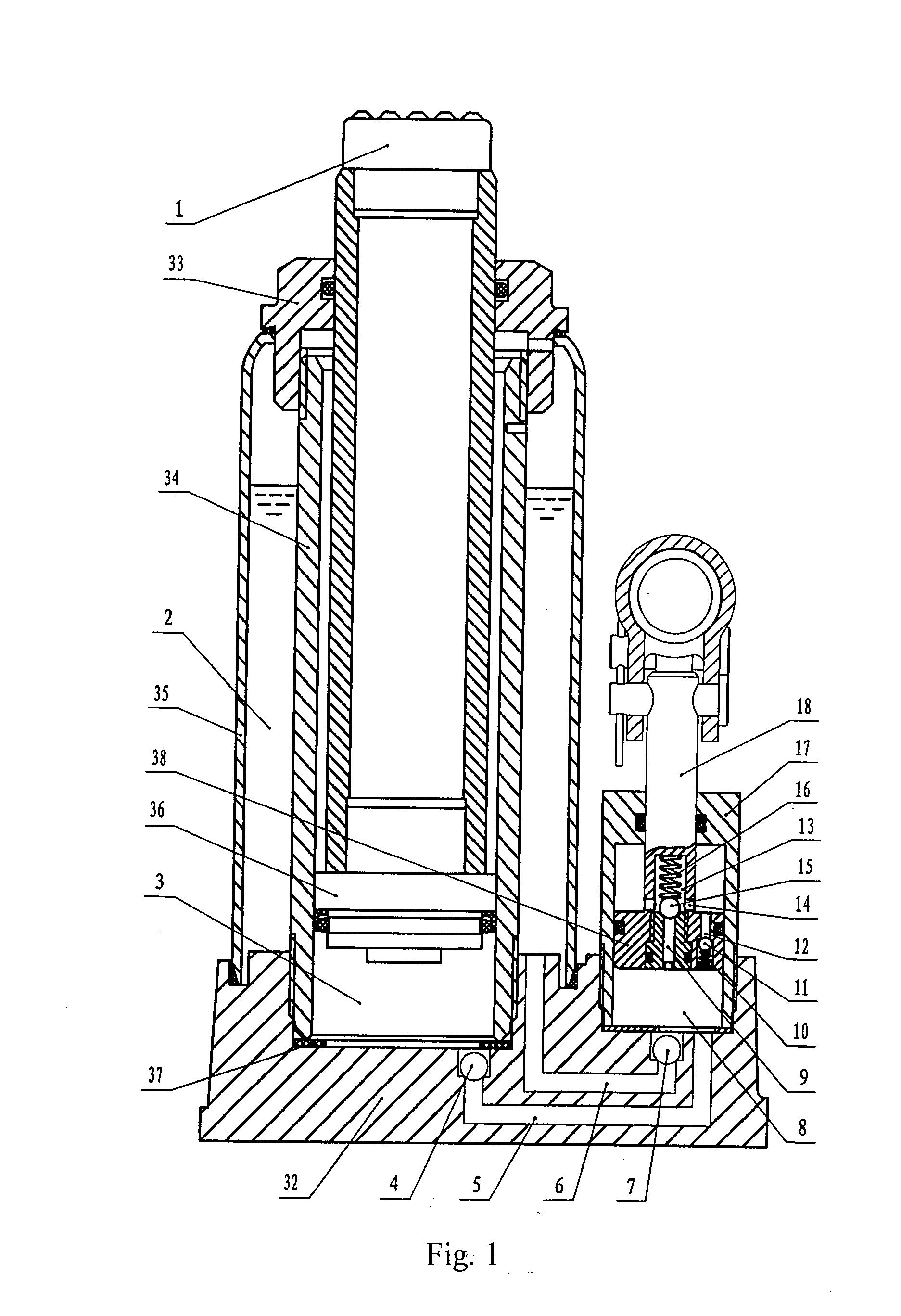 us20080048159 doublespeed hydraulic bottle jack google patents