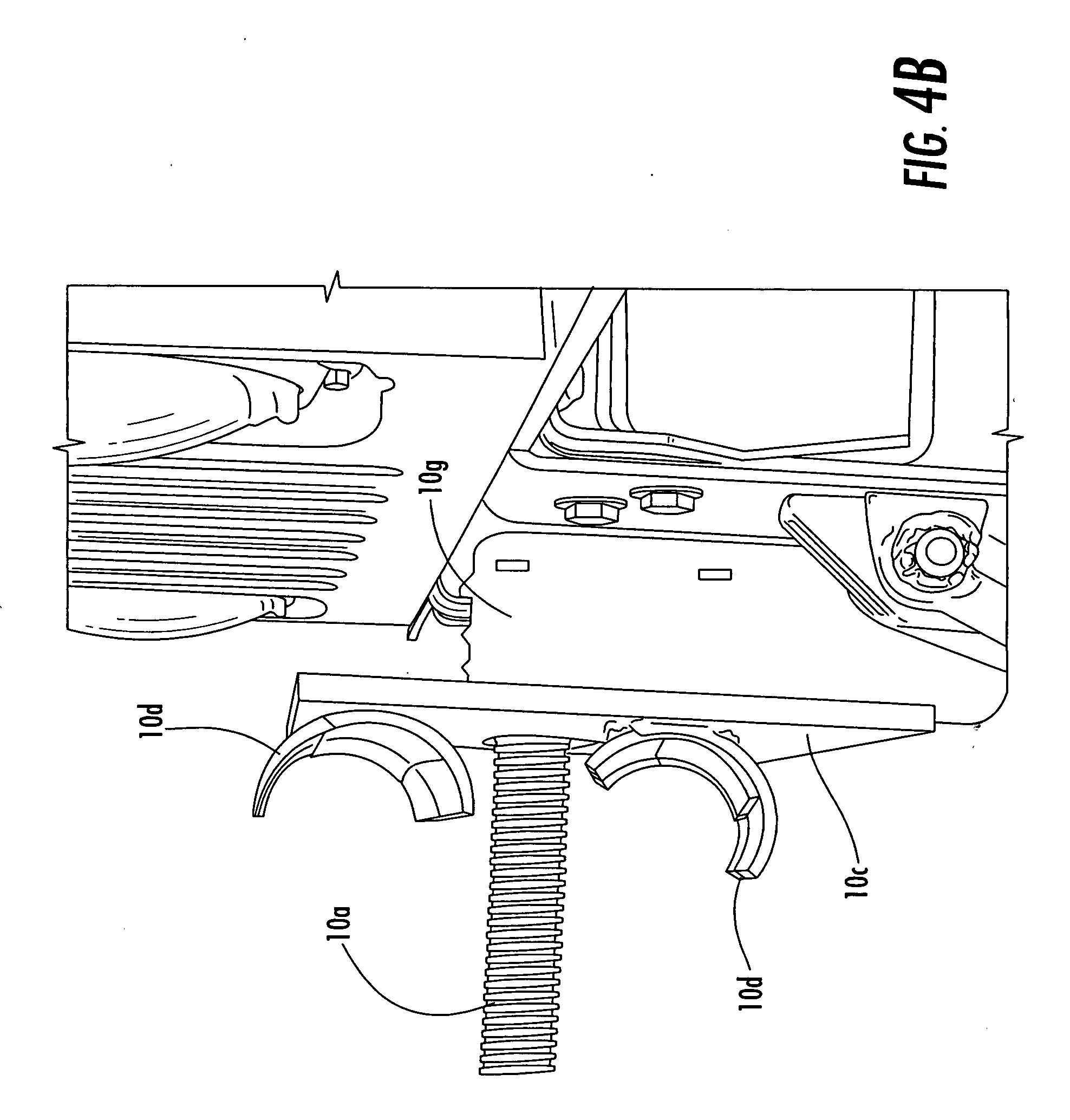 tow bar hardware