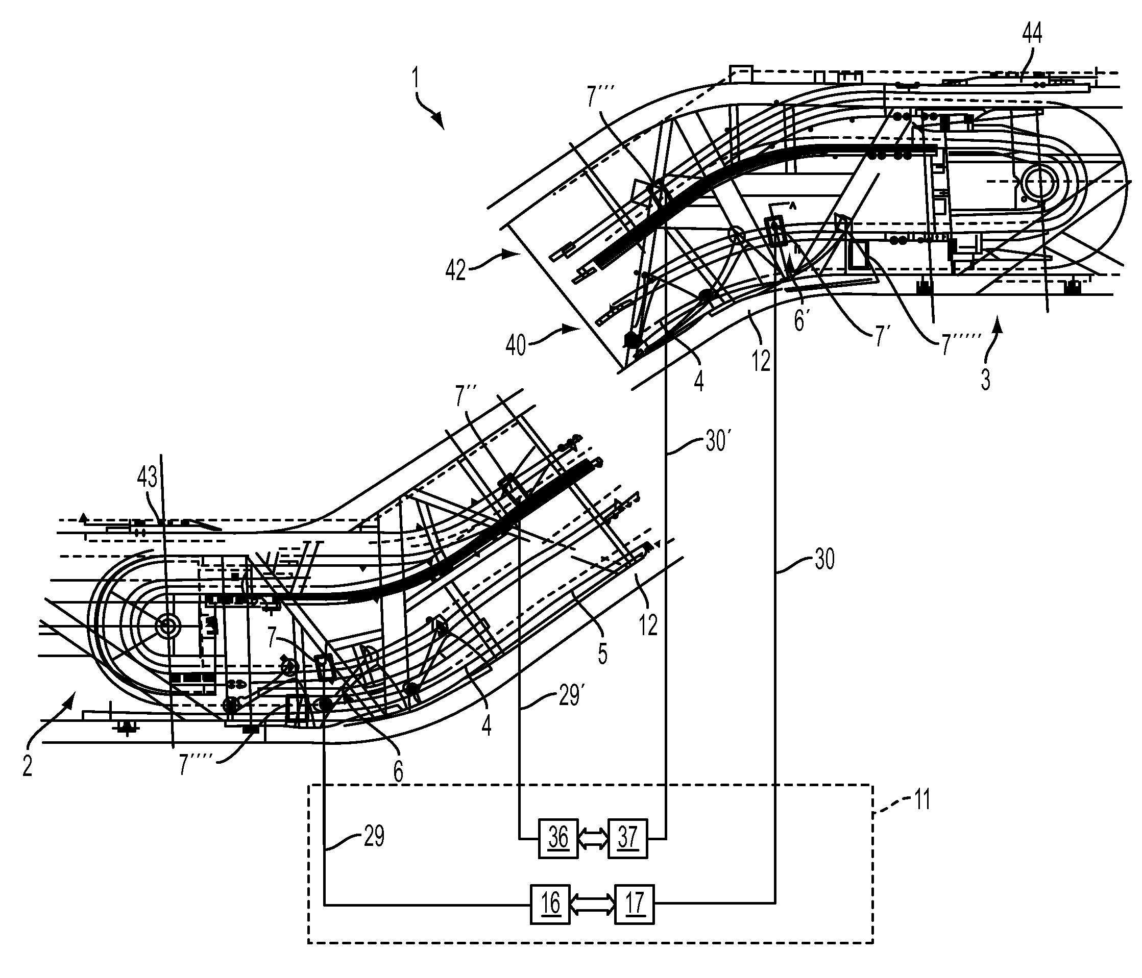 escalator schematic diagram