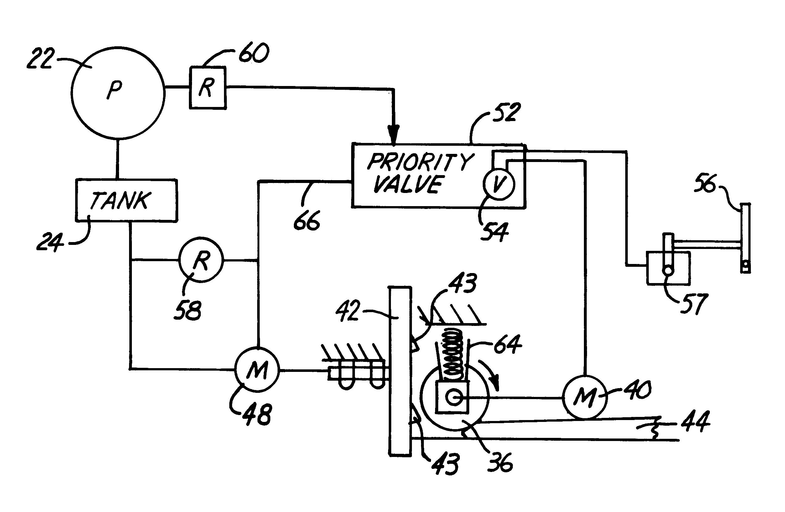 skid steer hydraulic circuit diagram