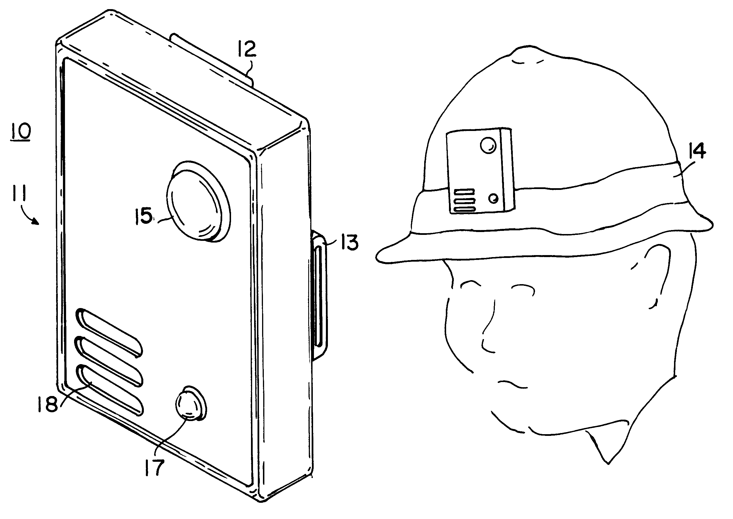 patent us6329924 wearable electric field detector google patents