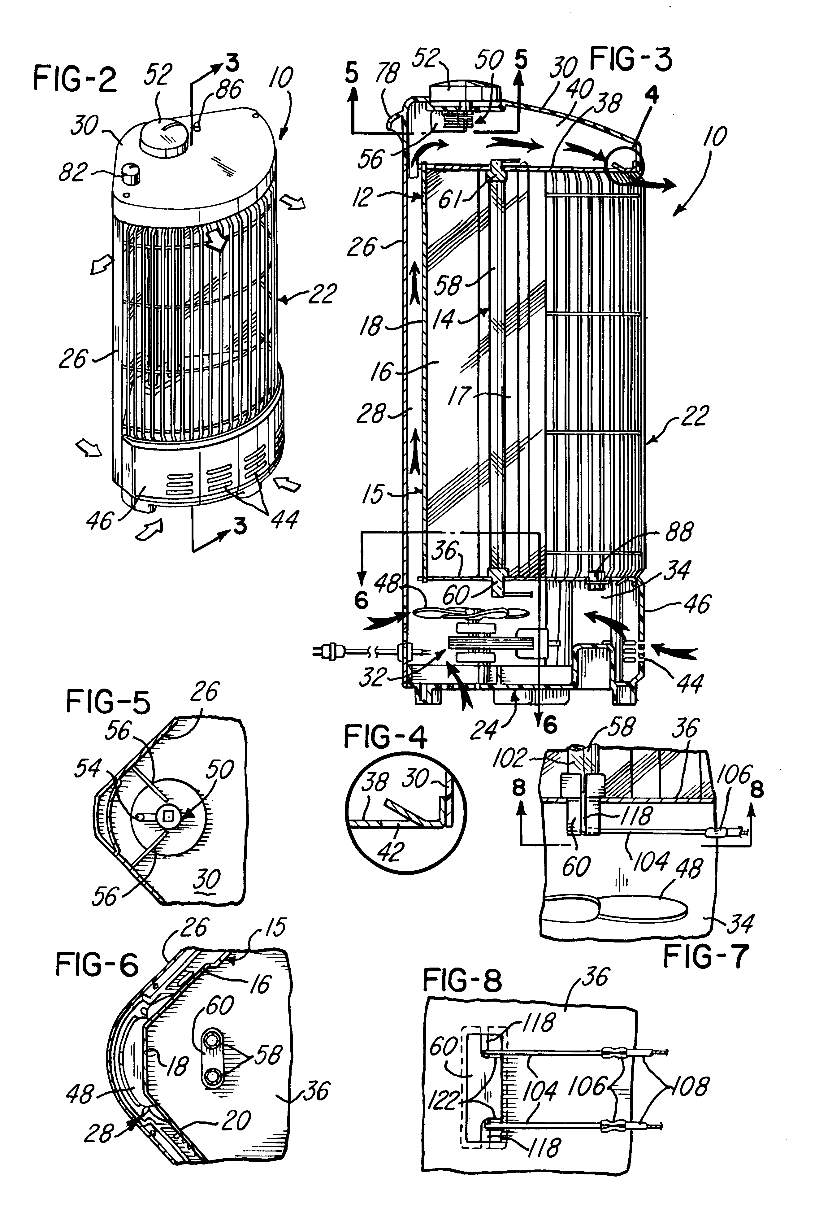 electric resistance heater diagram