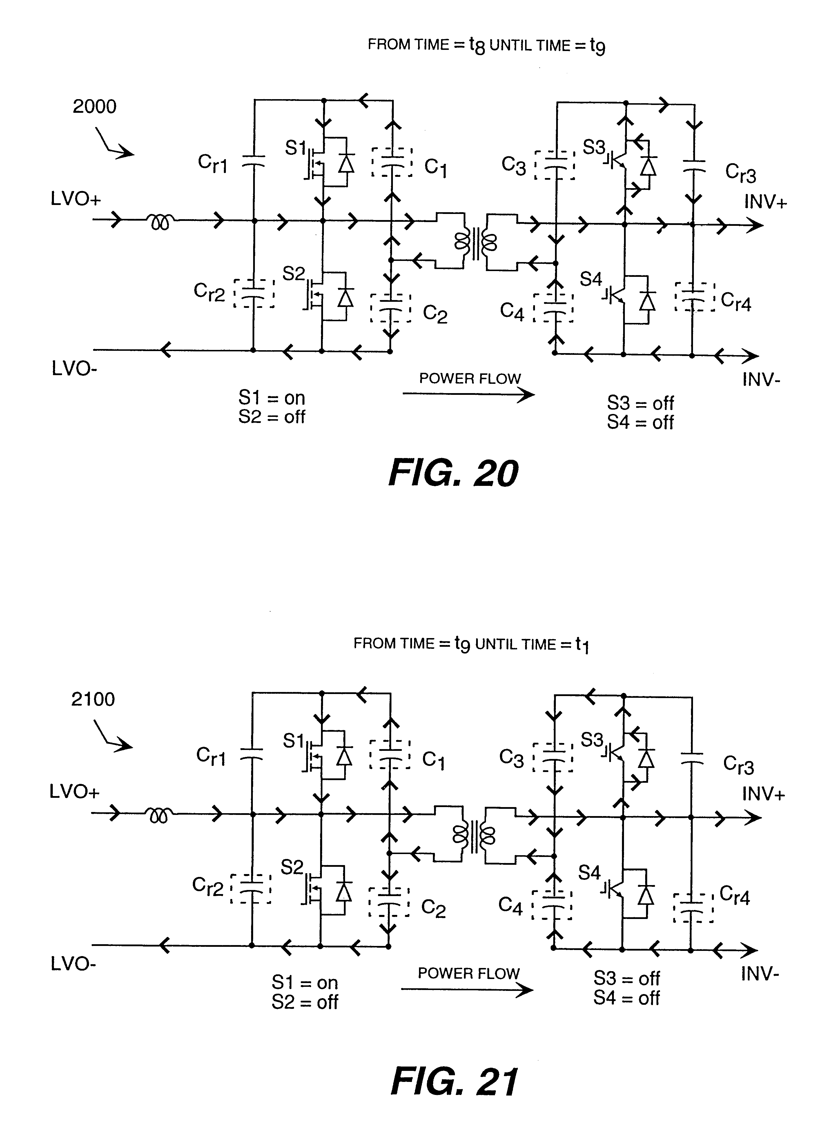 different clamping circuits