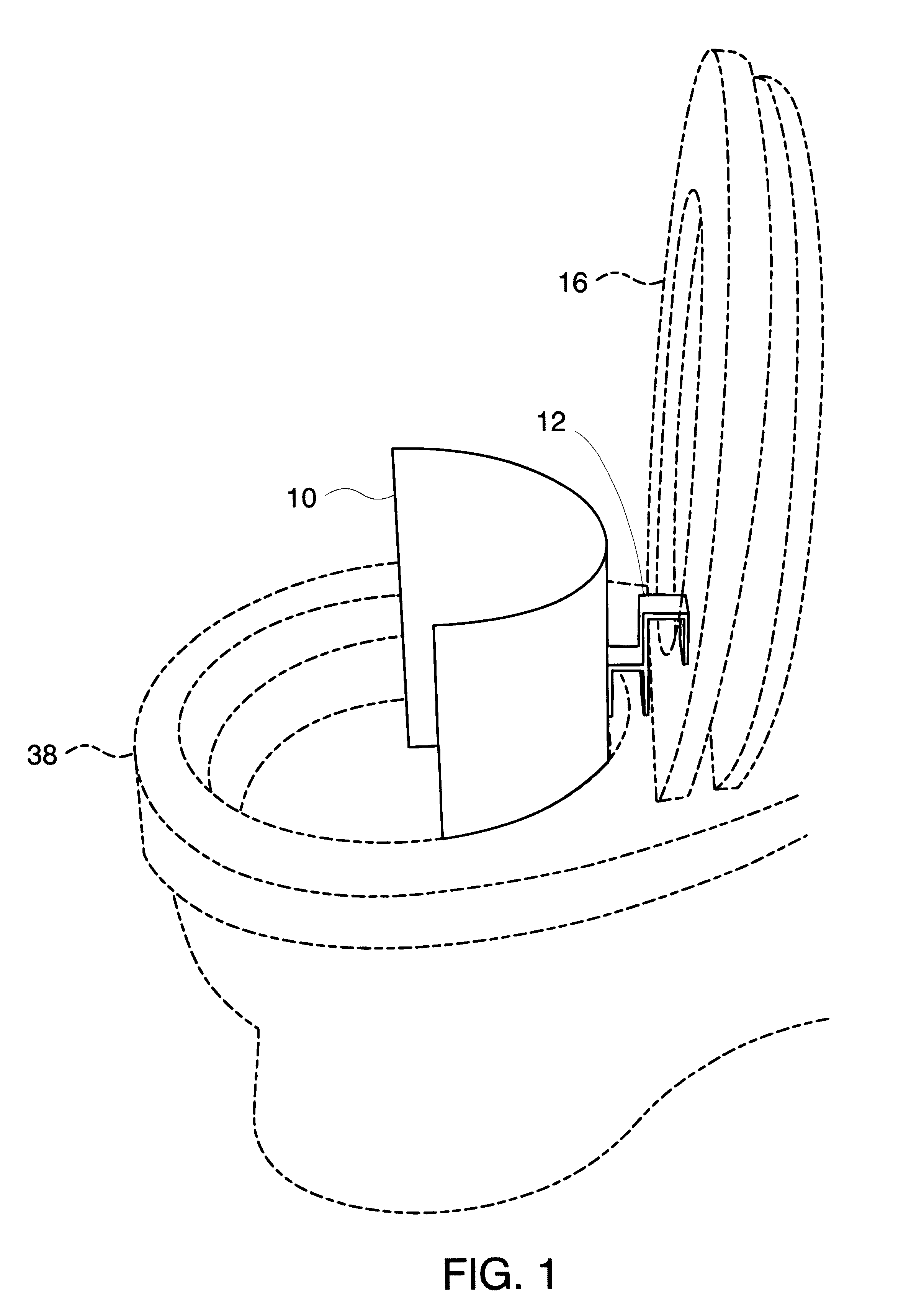Wc Urinal Kombination Patent Us6385785 Urine Shield Removably Attached To