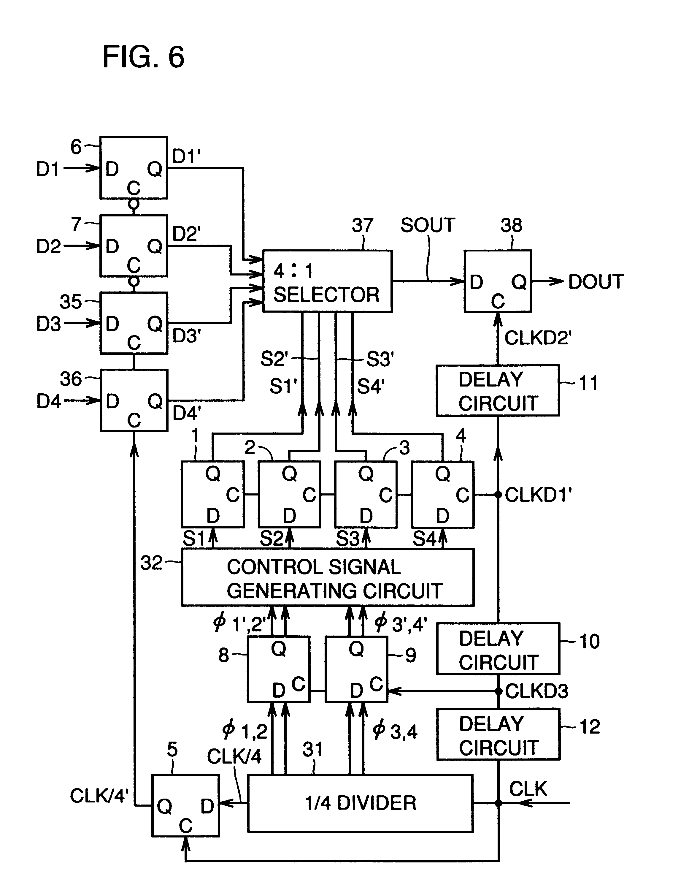 8 1 multiplexer block diagram