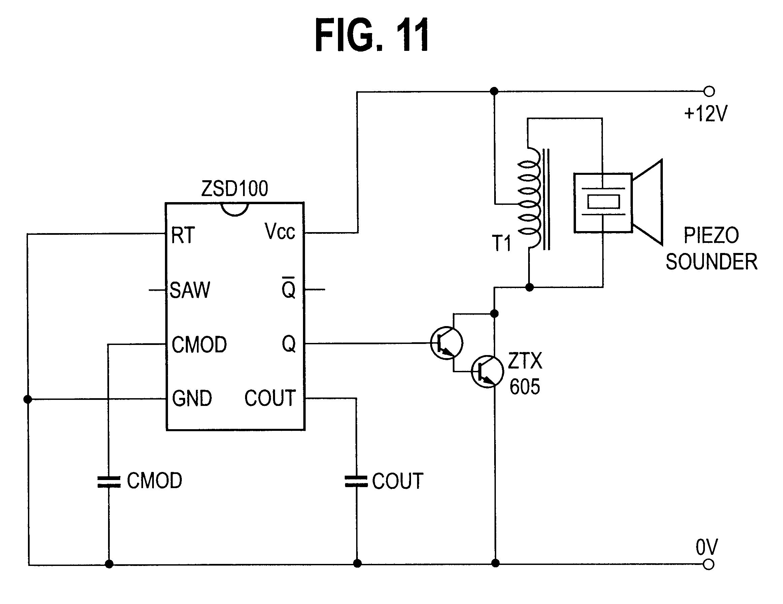 piezo driver circuit