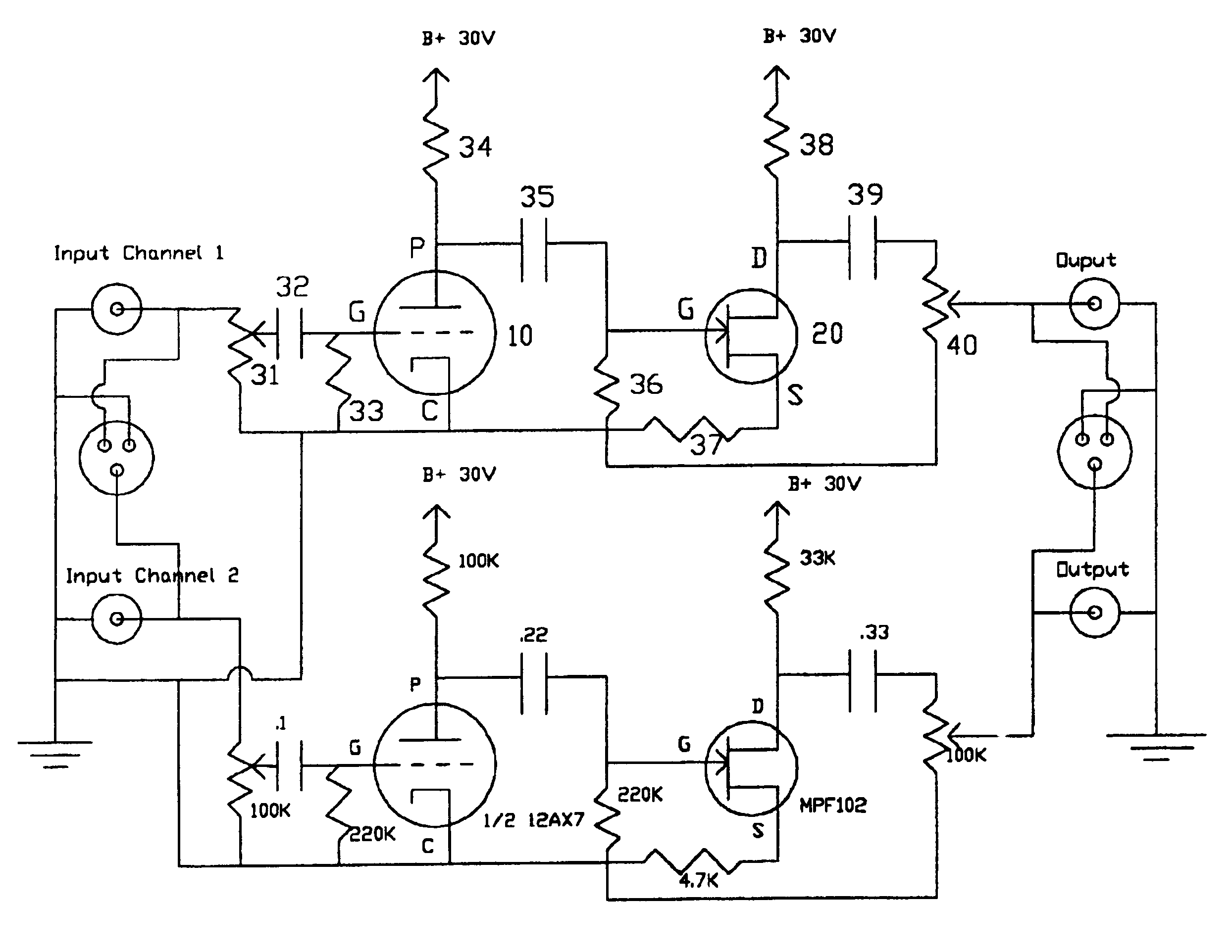 common source jfet amplifier my circuits 9