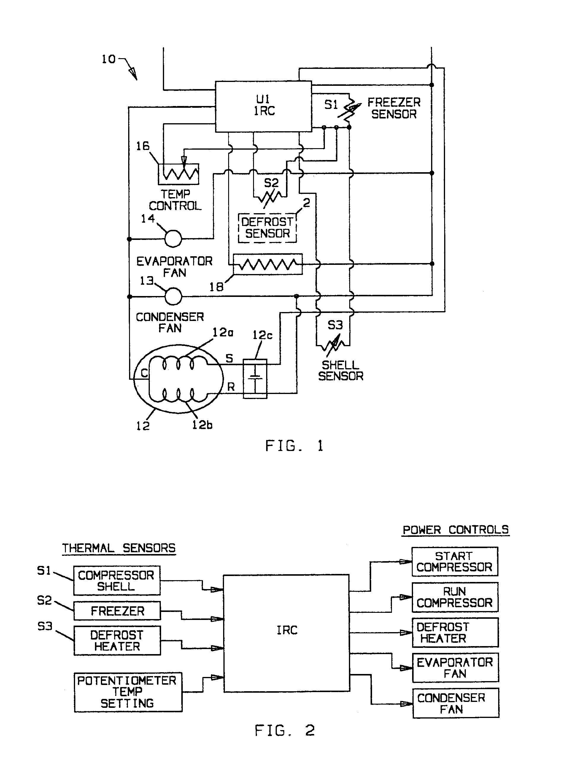 heatcraft walk in freezer Schaltplang