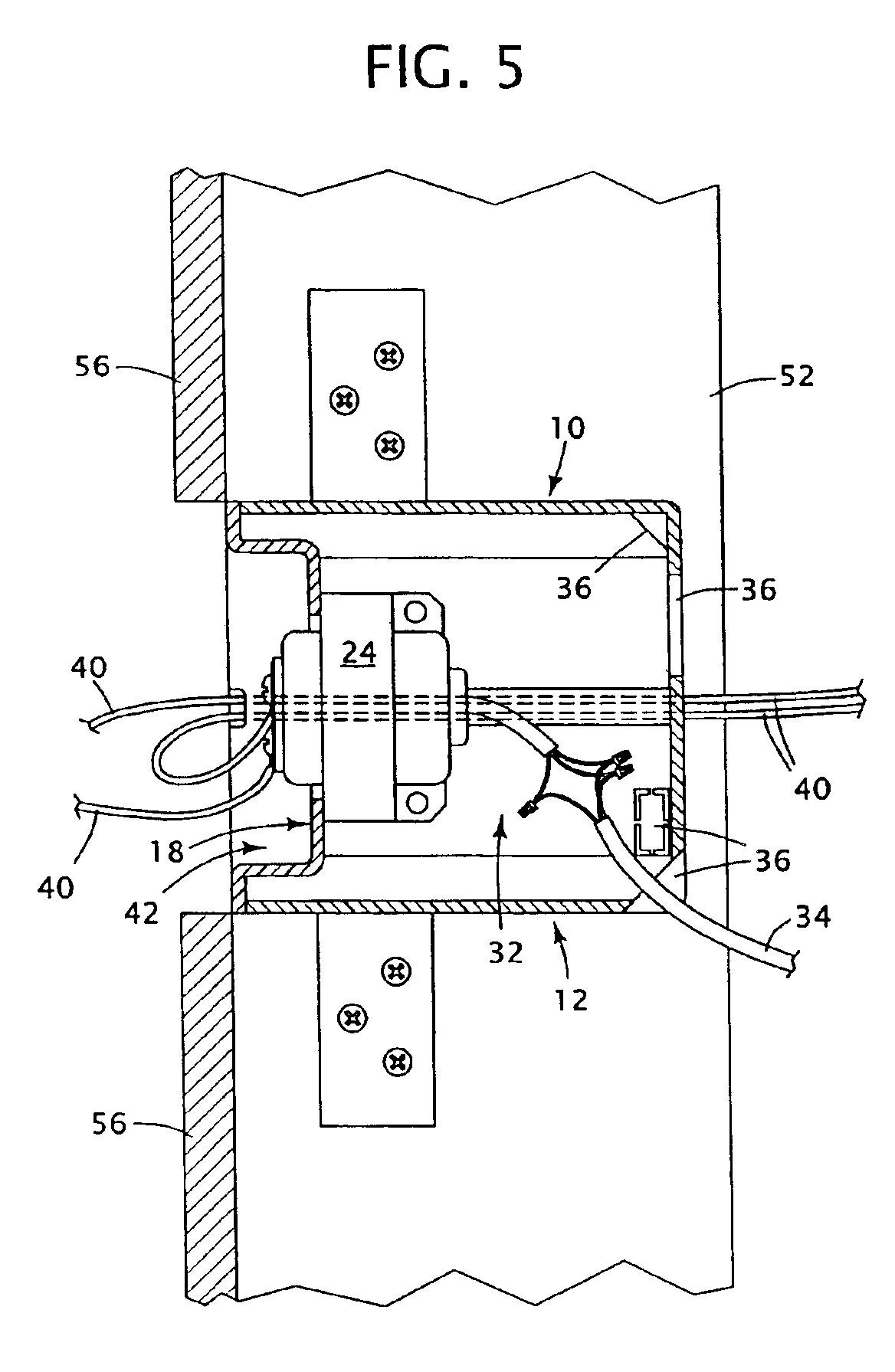 low voltage transformer wiring