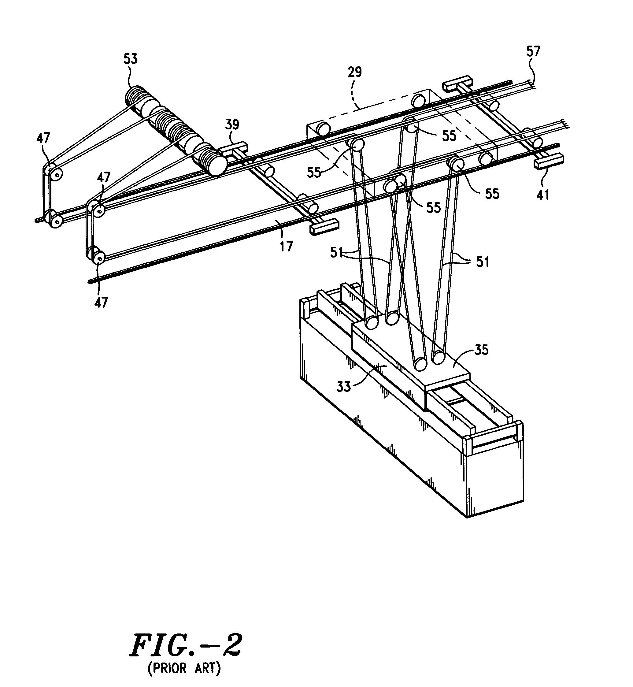 crane cable reeving diagram