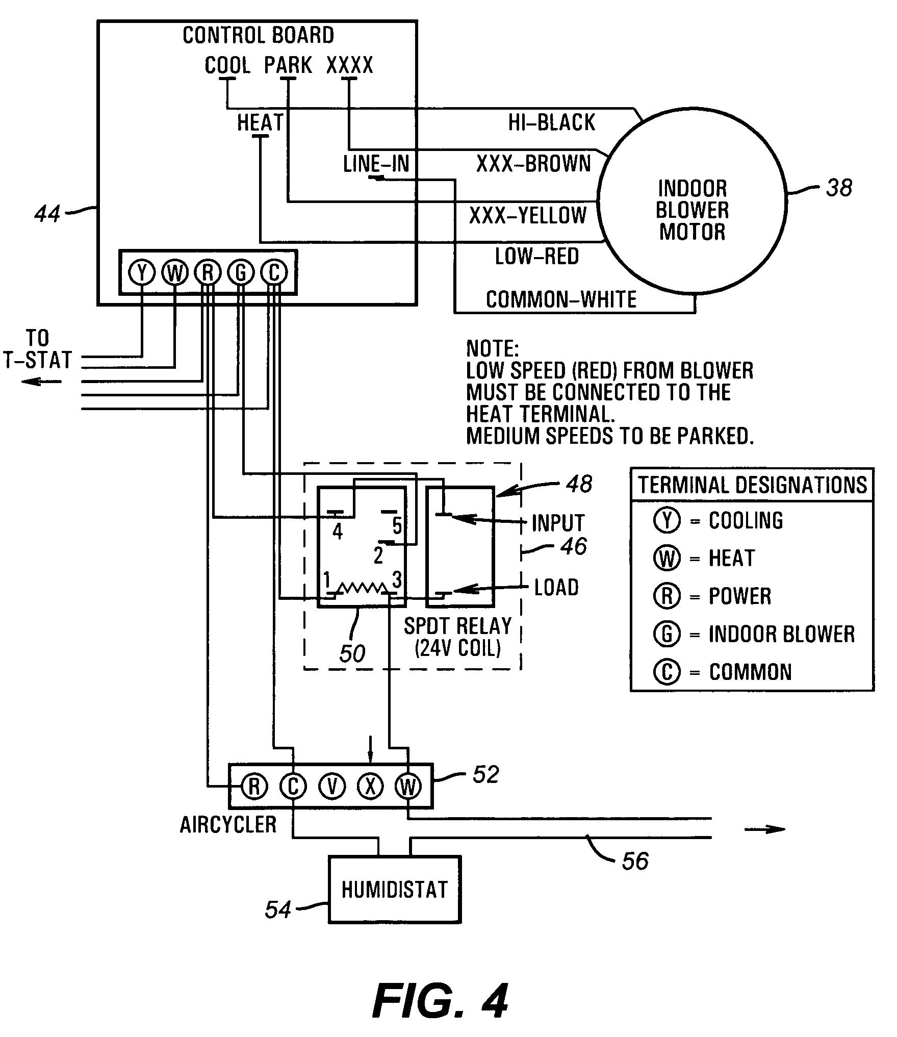 humidistat wiring diagram 2 pole