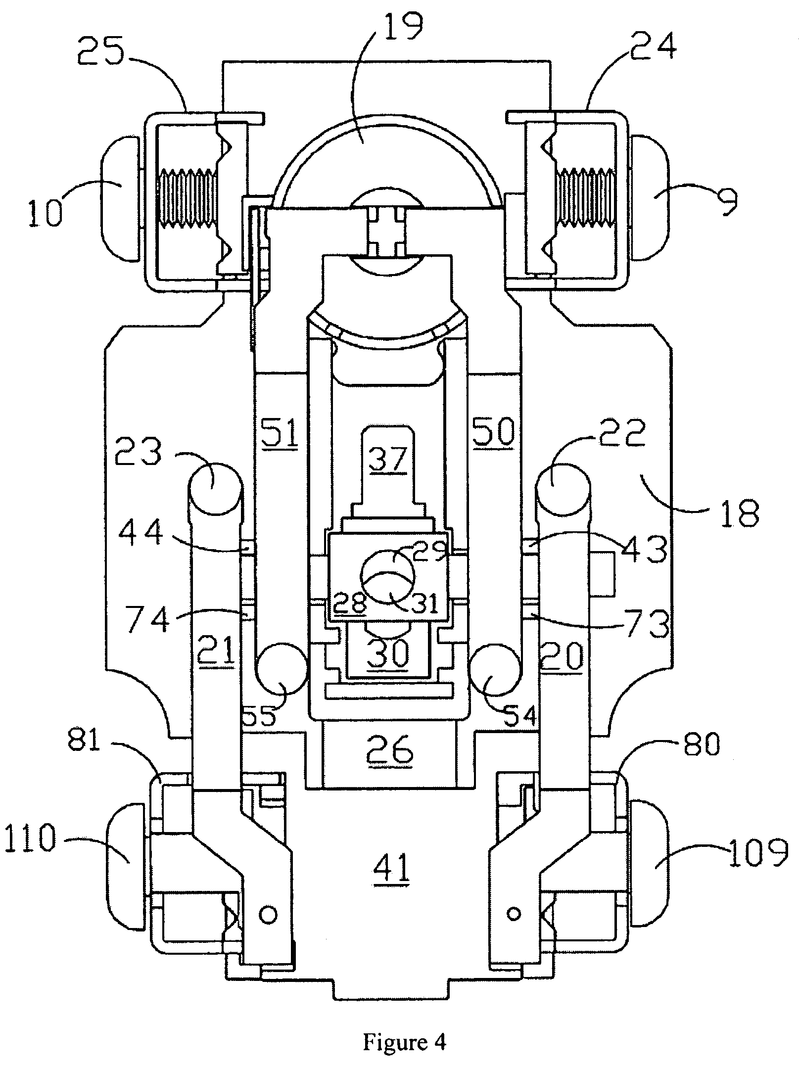 ground fault circuit interrupter containing a on ground fault