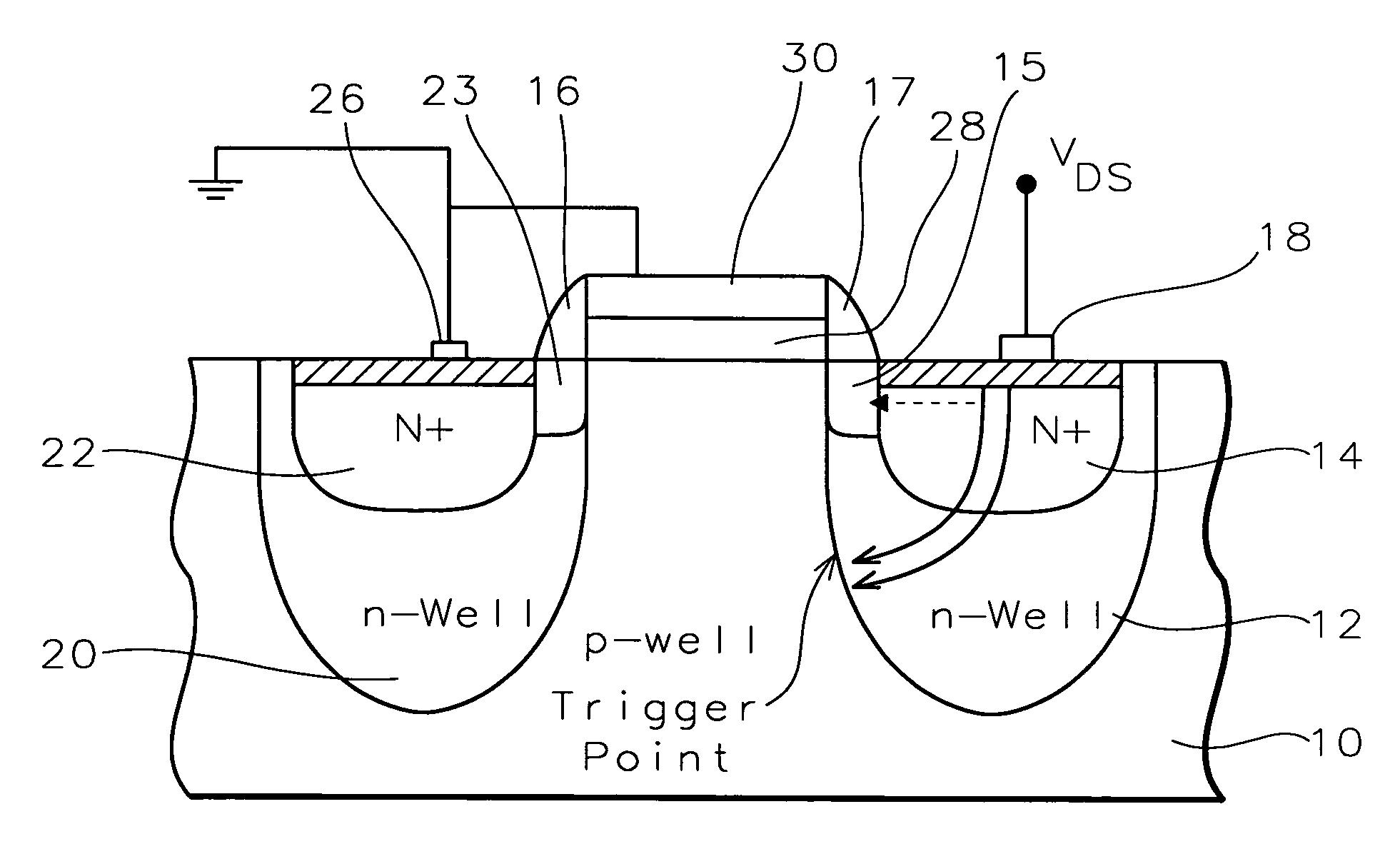nmos ic fabrication process