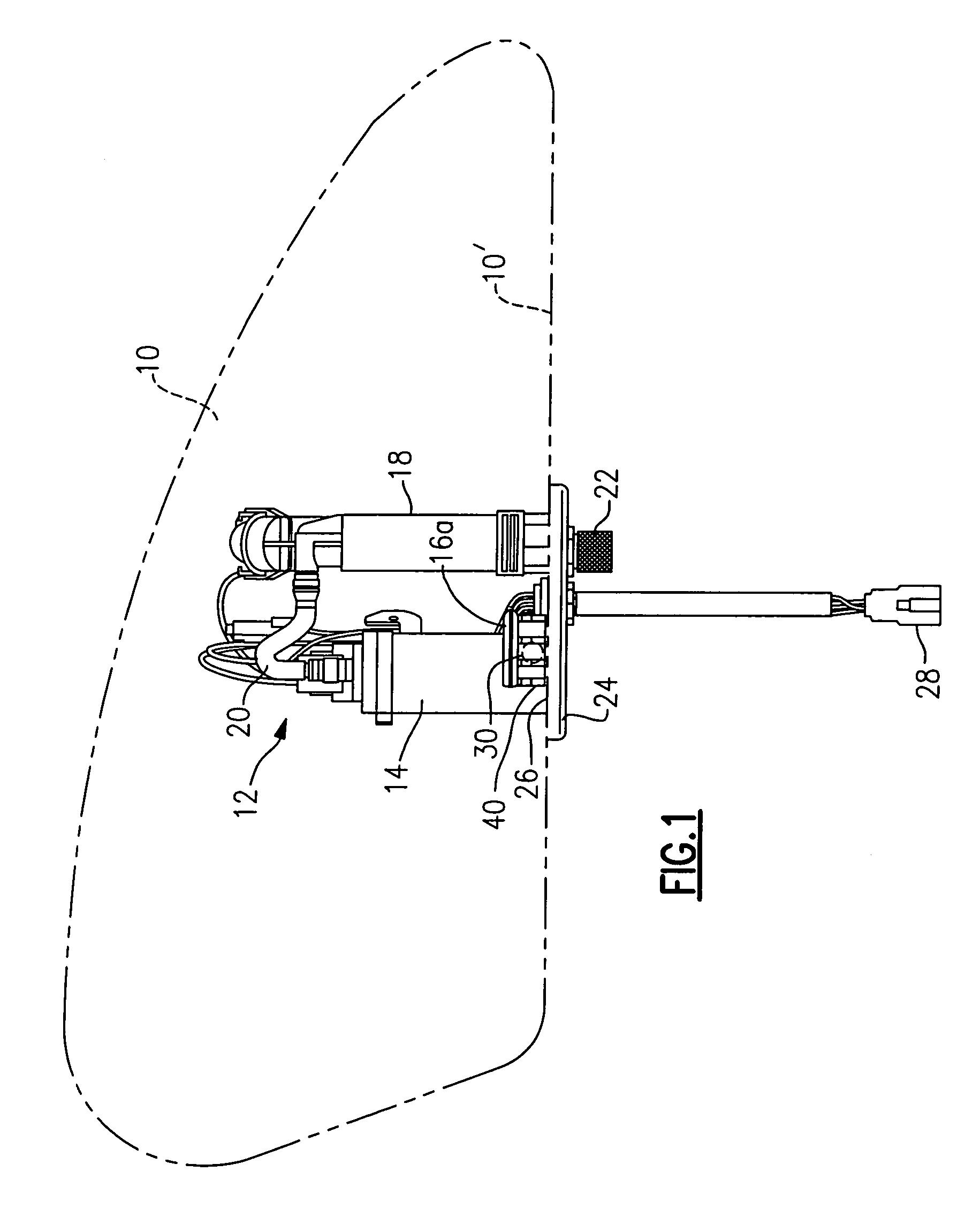 fuel tank filtering