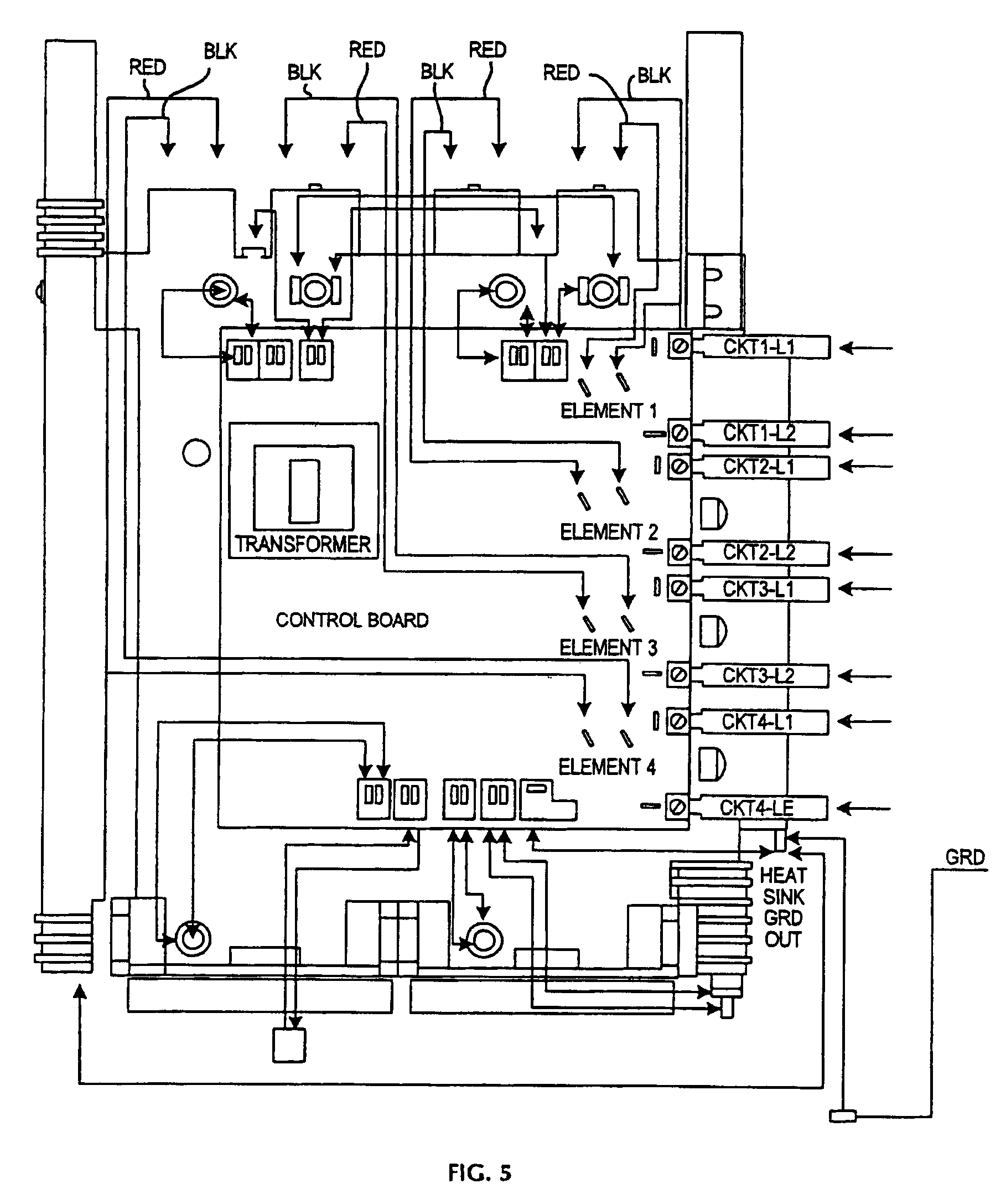 forced hot air furnace wiring diagram