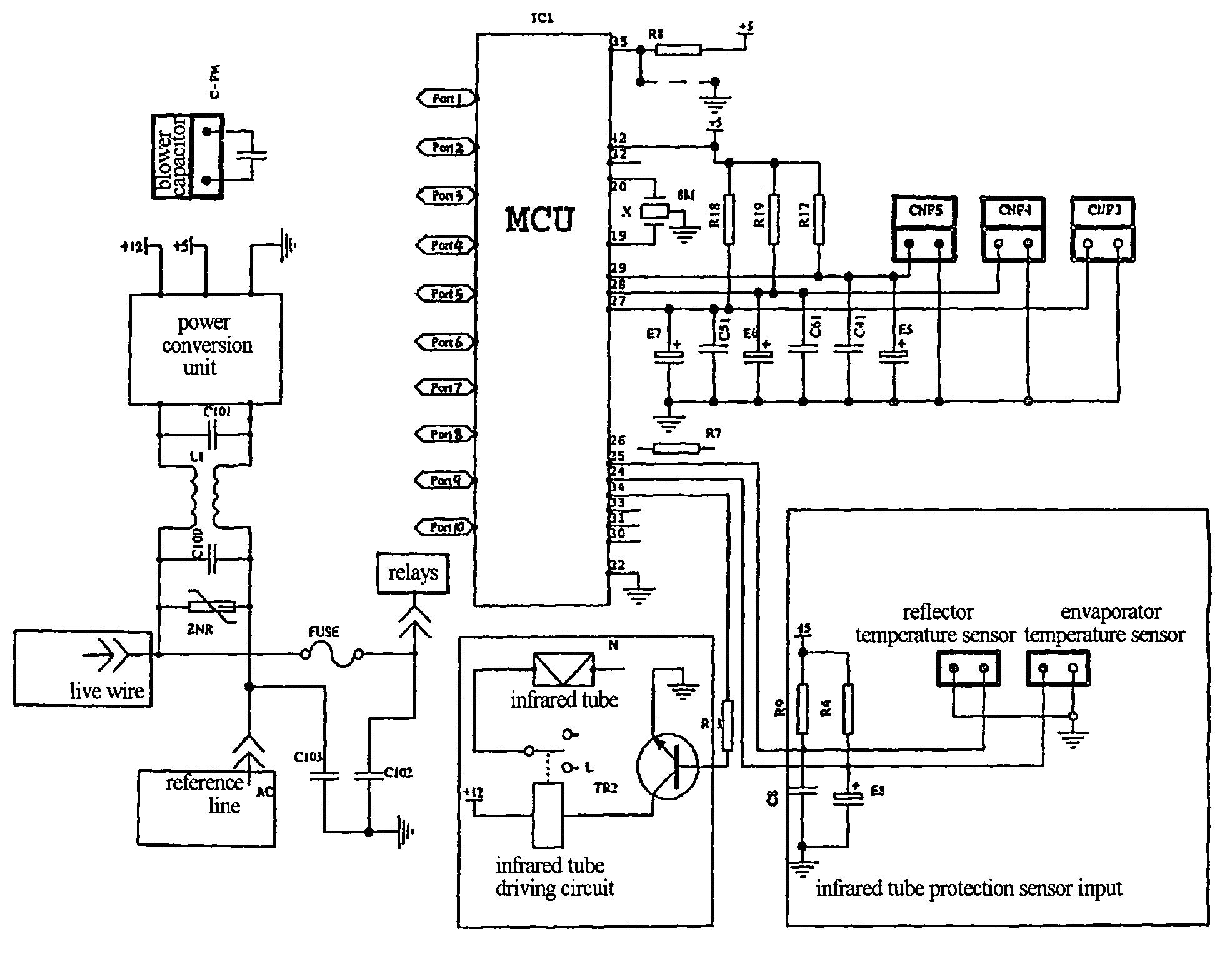galanz air conditioner wiring diagram