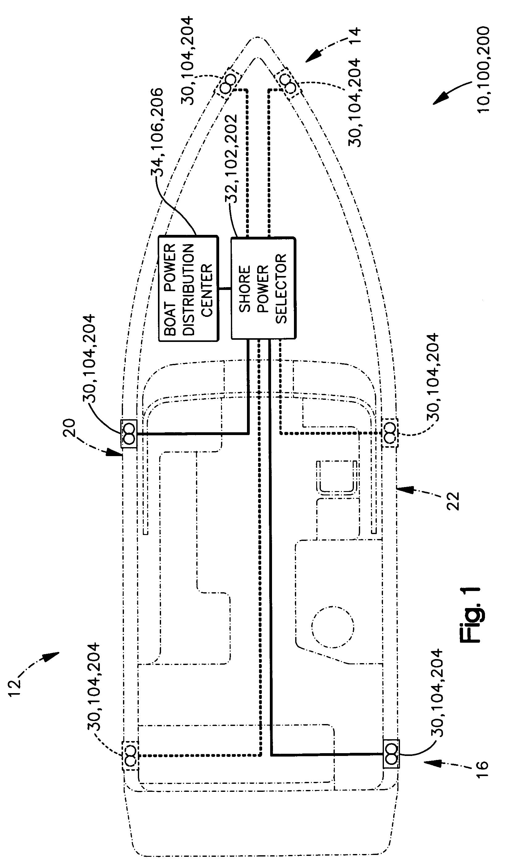 twist lock receptacle 30 amp shore power wiring diagram