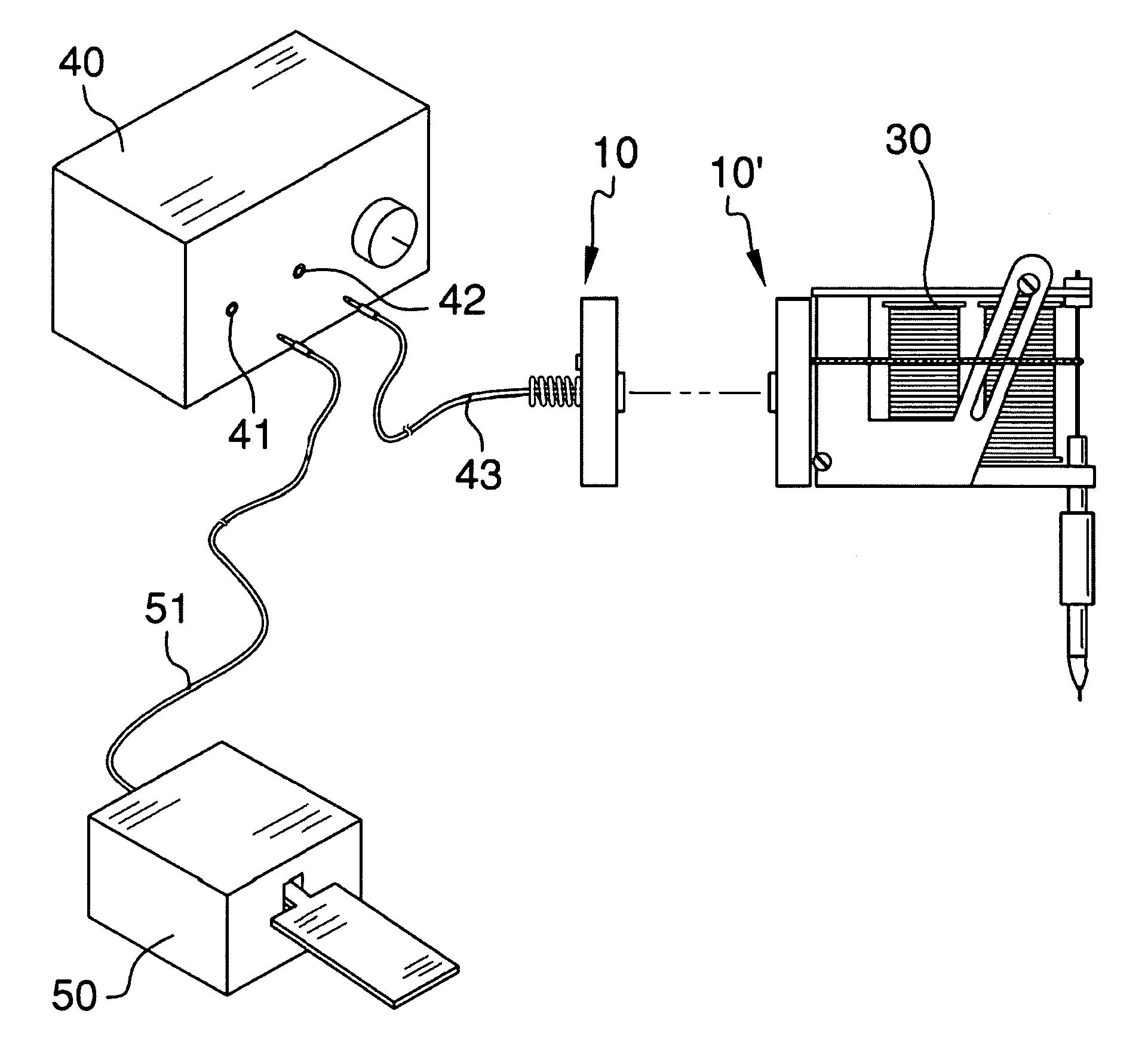 tattoo foot switch wiring diagram