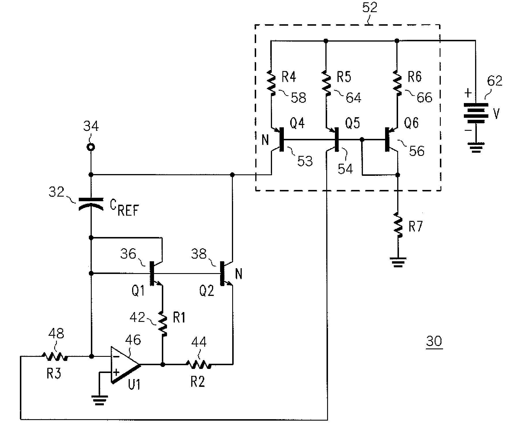 the capacitance multiplier